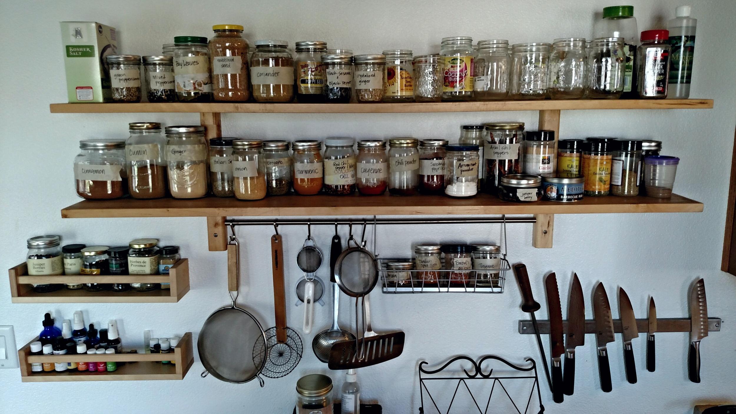 Bulk Spices Organization - Cynthia B Well