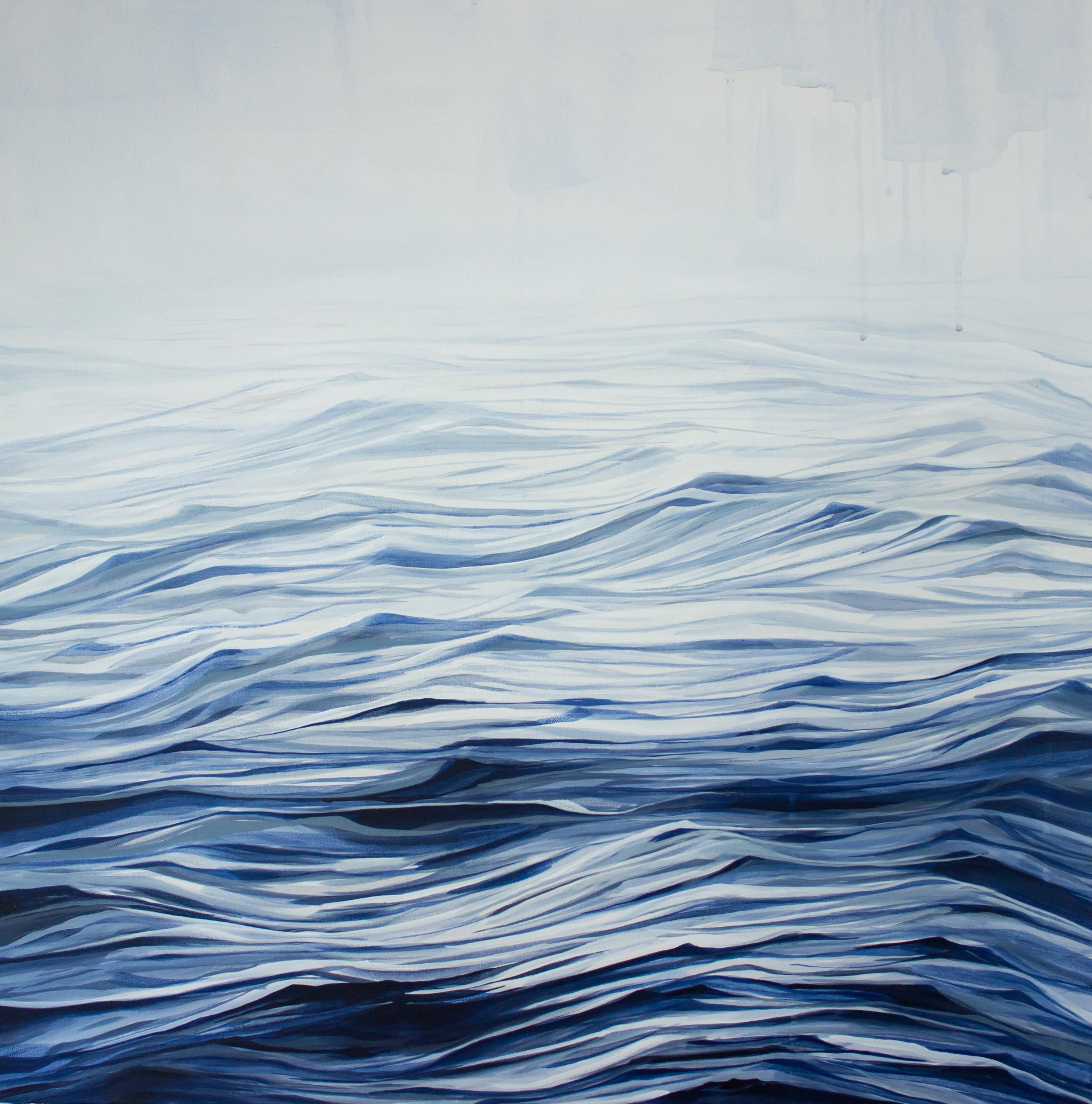 "Hope  30""x30"" acrylic painting on canvas"