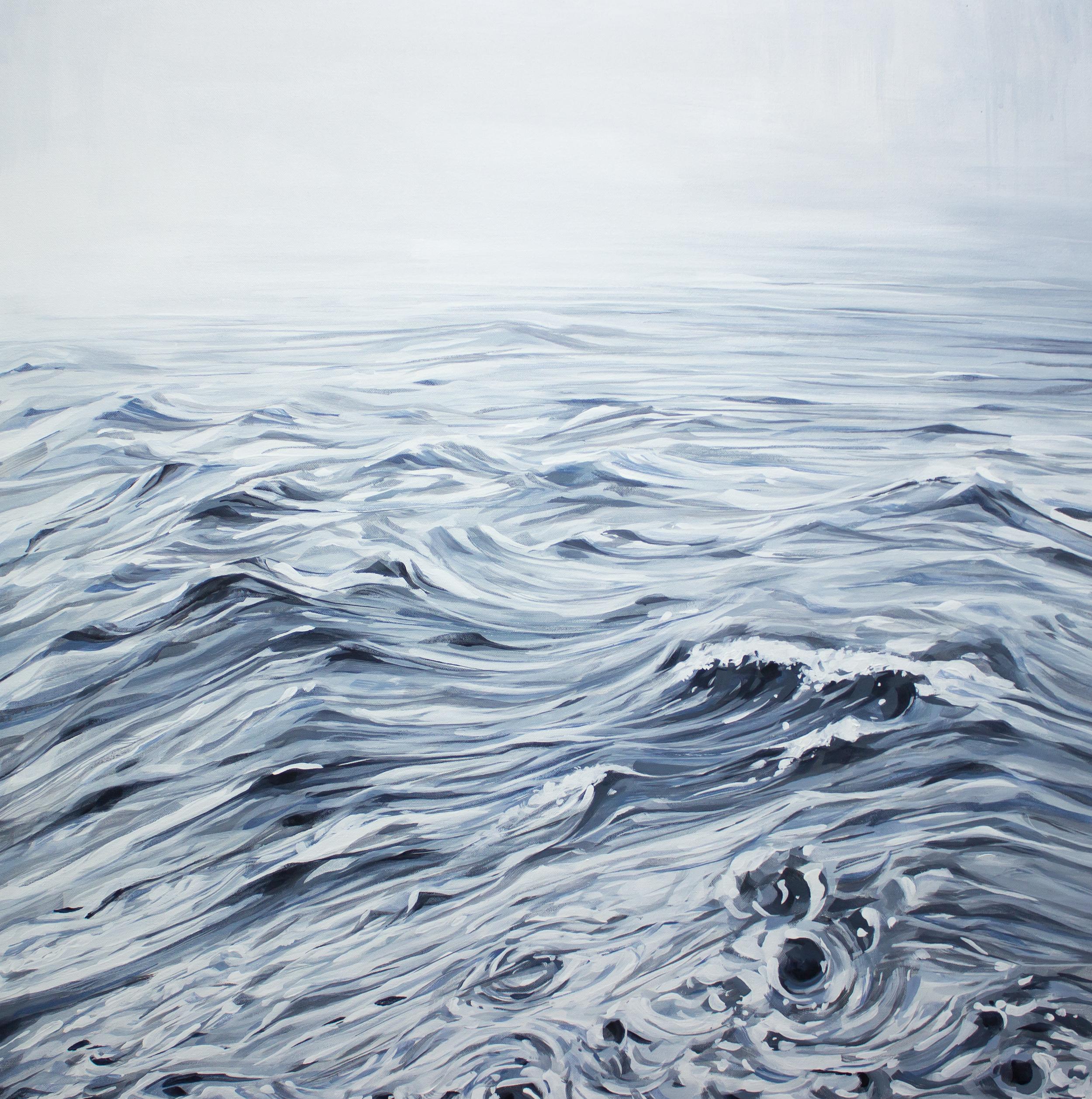"""Pause  36x36"""" acrylic on canvas"""