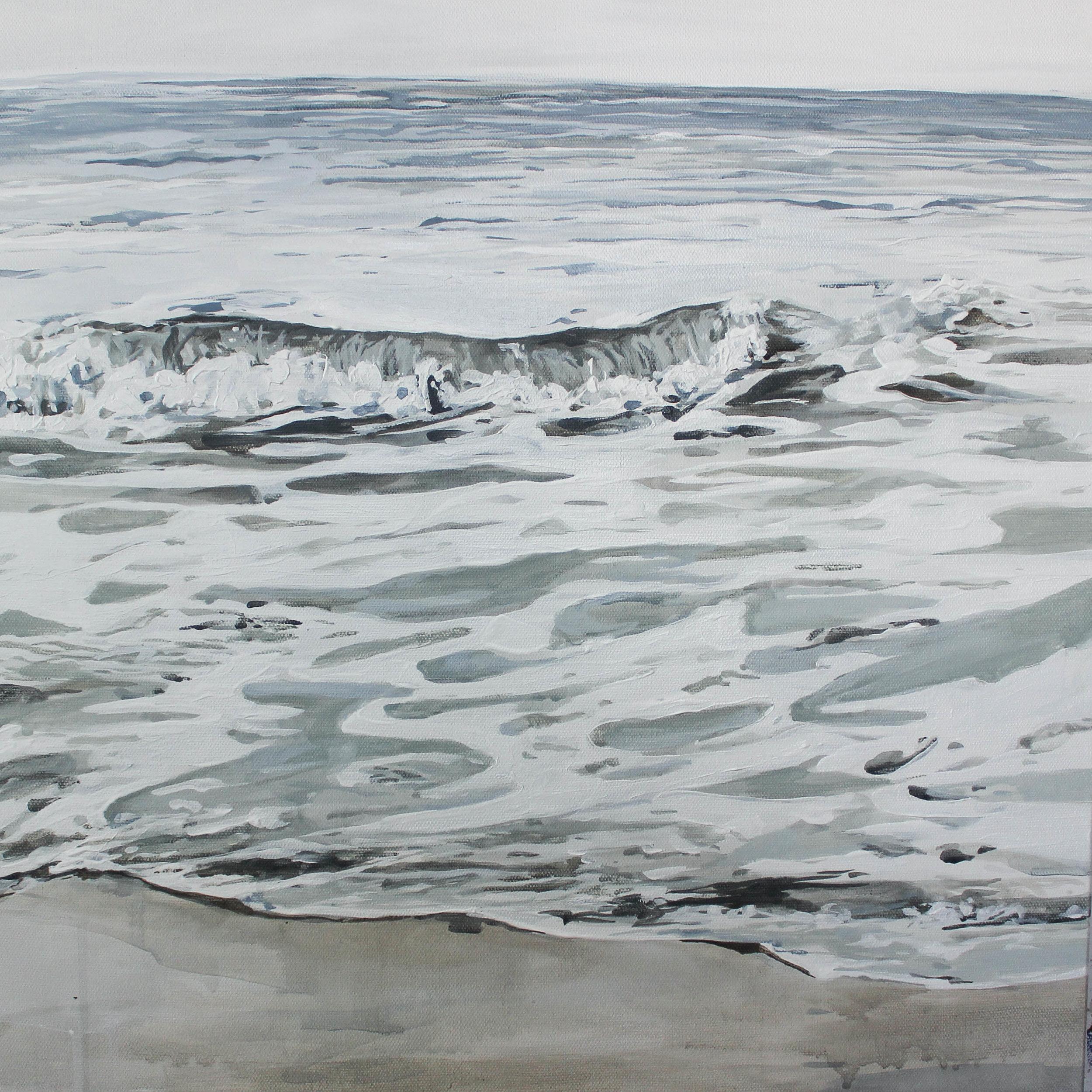 """""""A New Creation"""" 18x18"""" acrylic on canvas"""