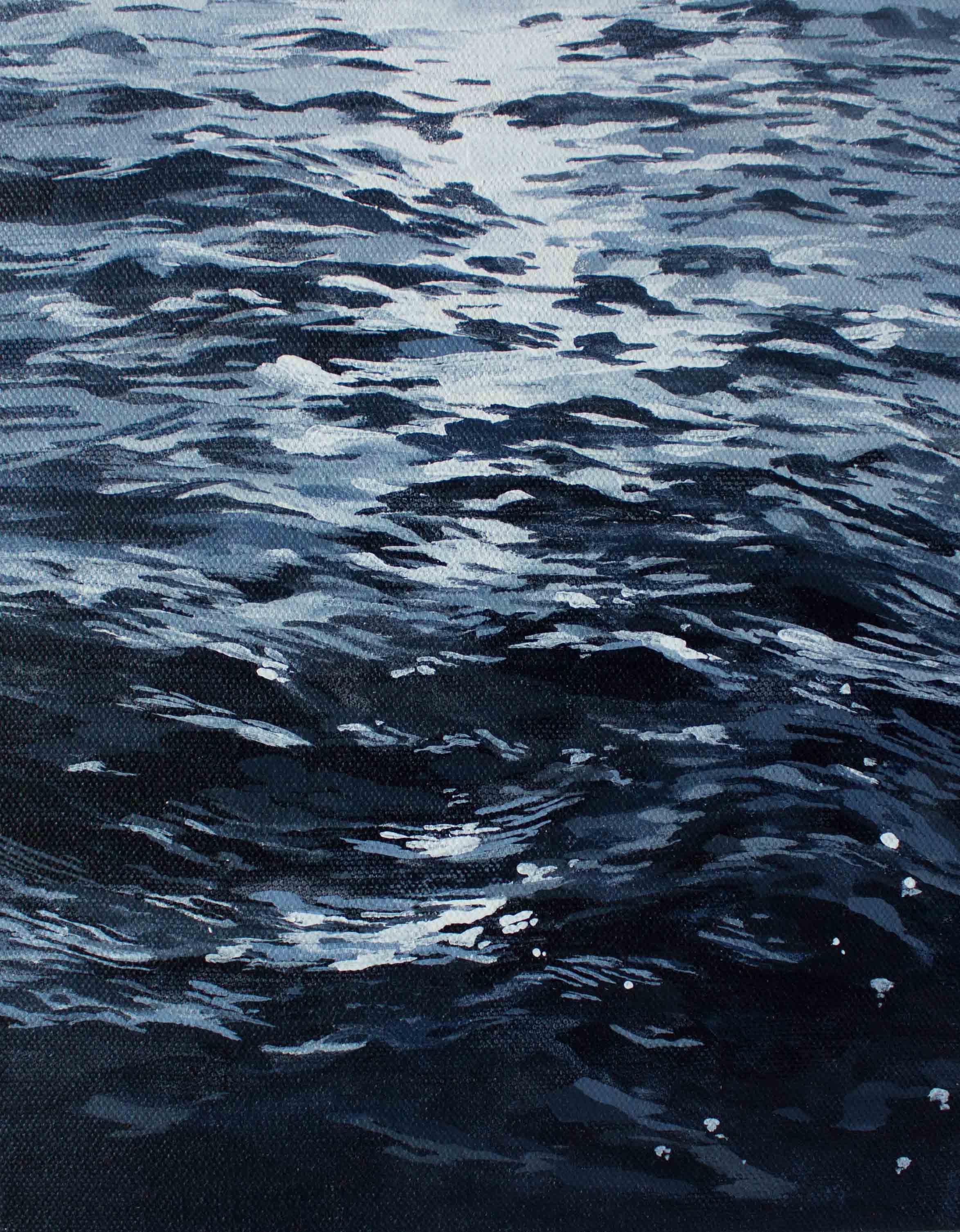 "Evening Boat Ride 8x10"""