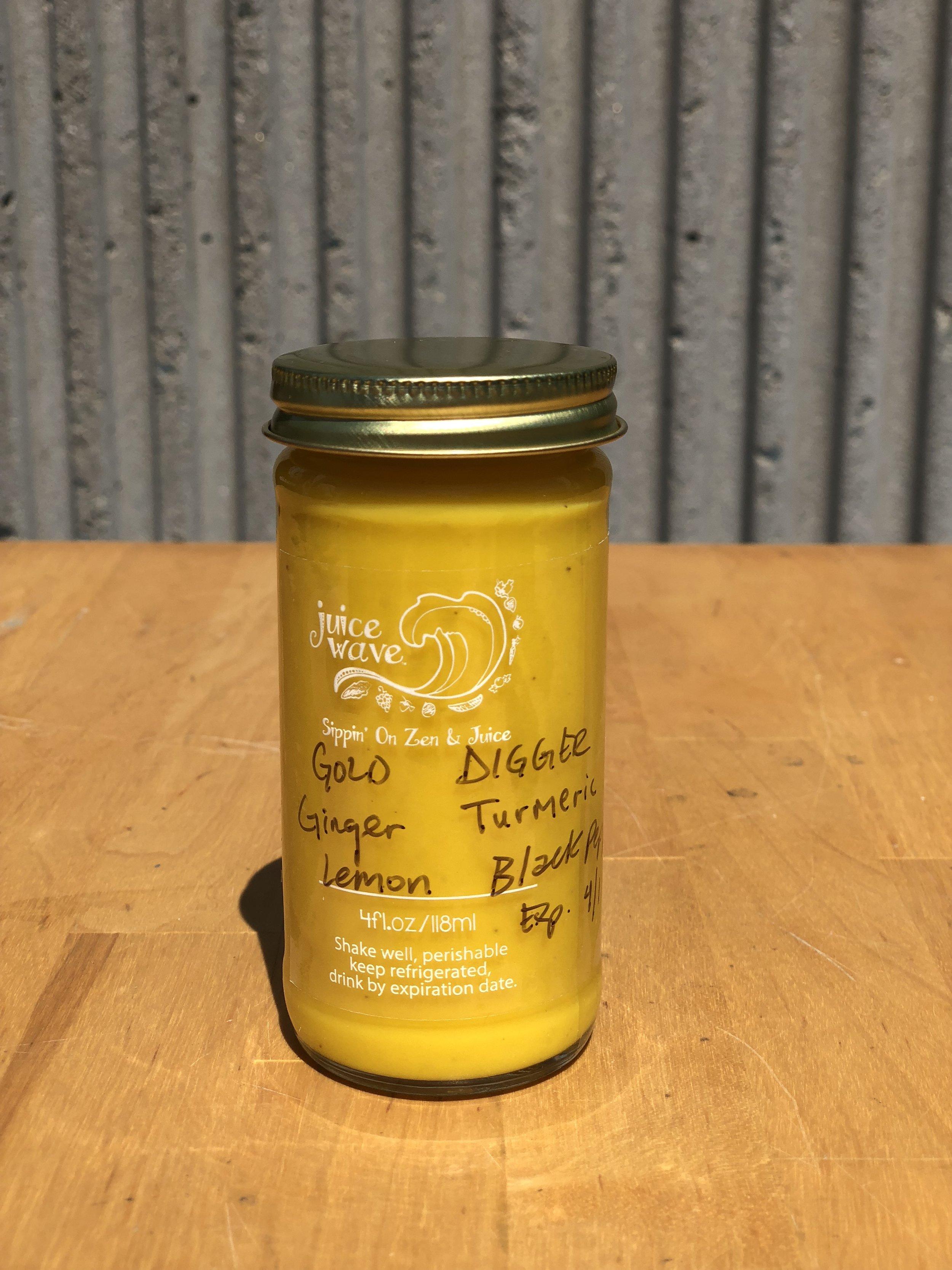 GOLD DIGGER: Ginger, Turmeric, Lemon, Black Pepper
