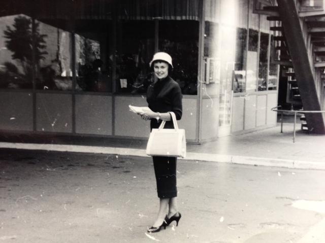 Joan in Frankfurt, Germany