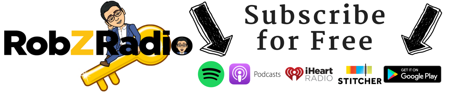 rob z radio podcast subcribe itunes spotify google play