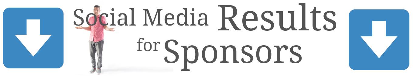 rob z show social media results sponsors
