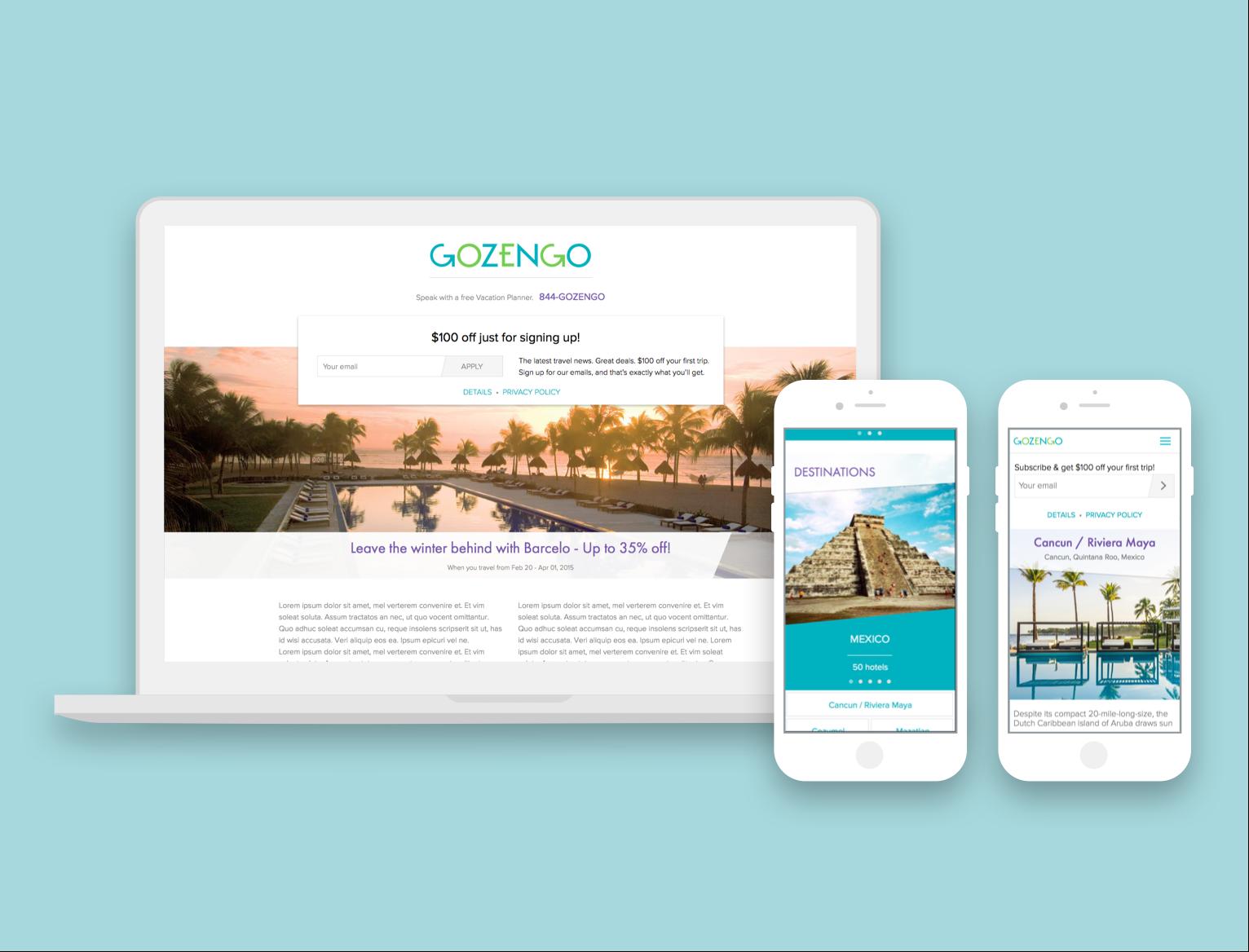 Responsive Website with Branding