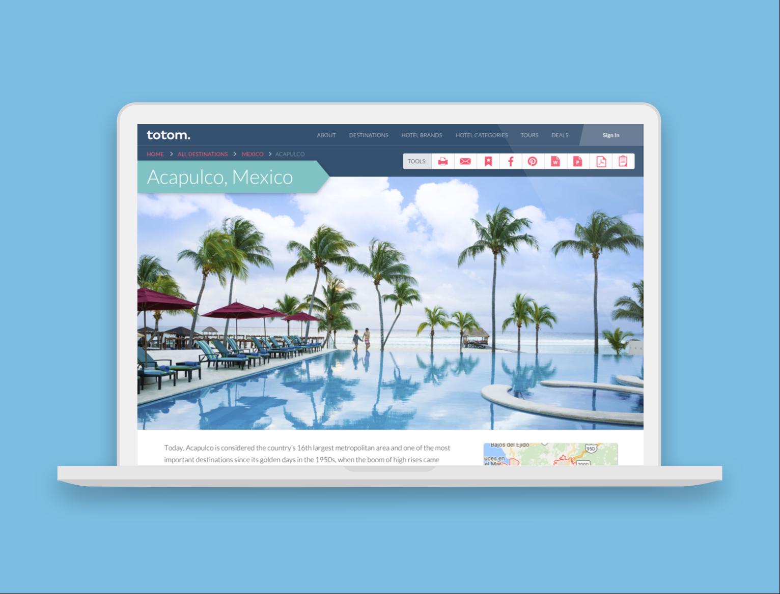 SaaS Responsive Website