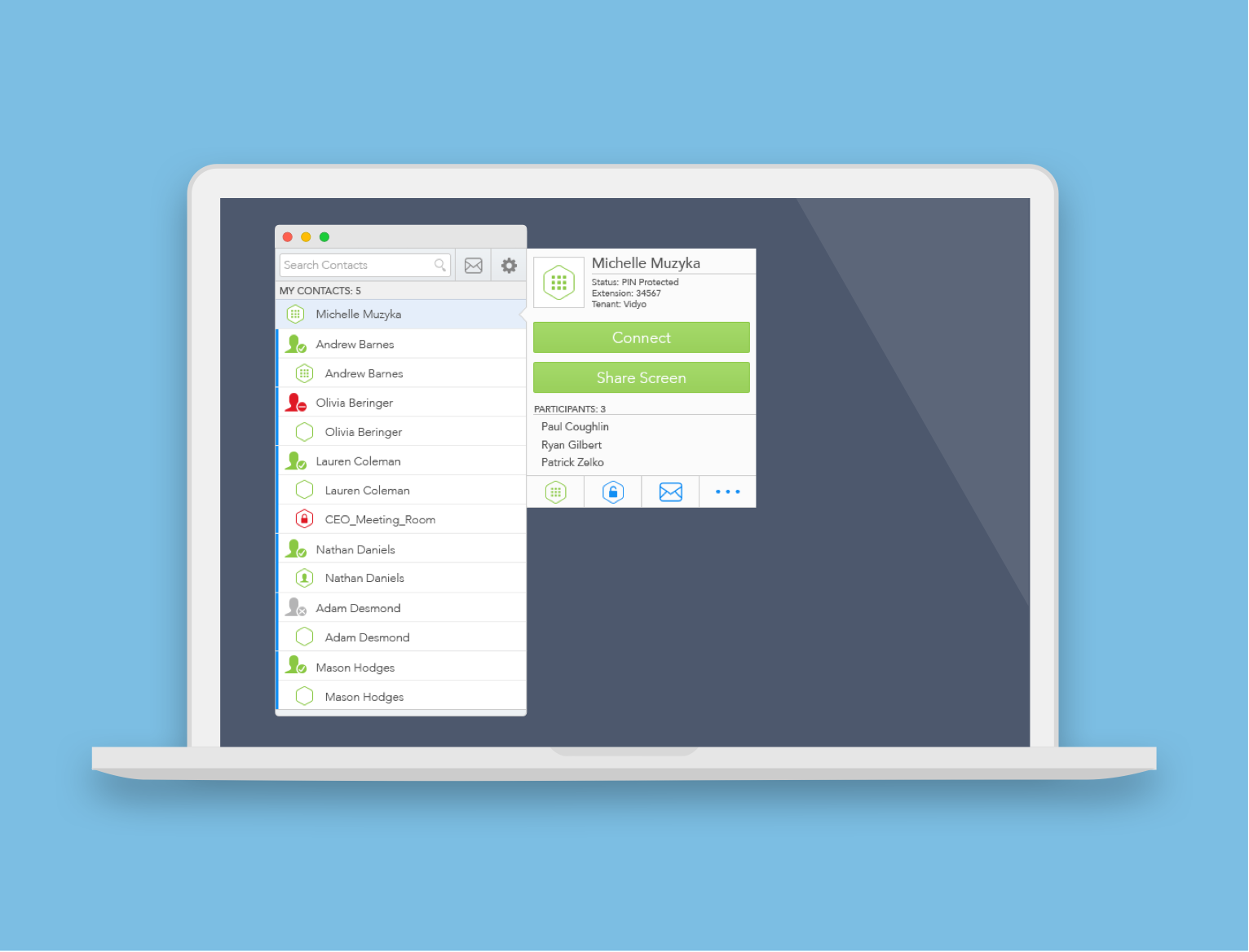 Native Desktop Application for Mac OS & PC