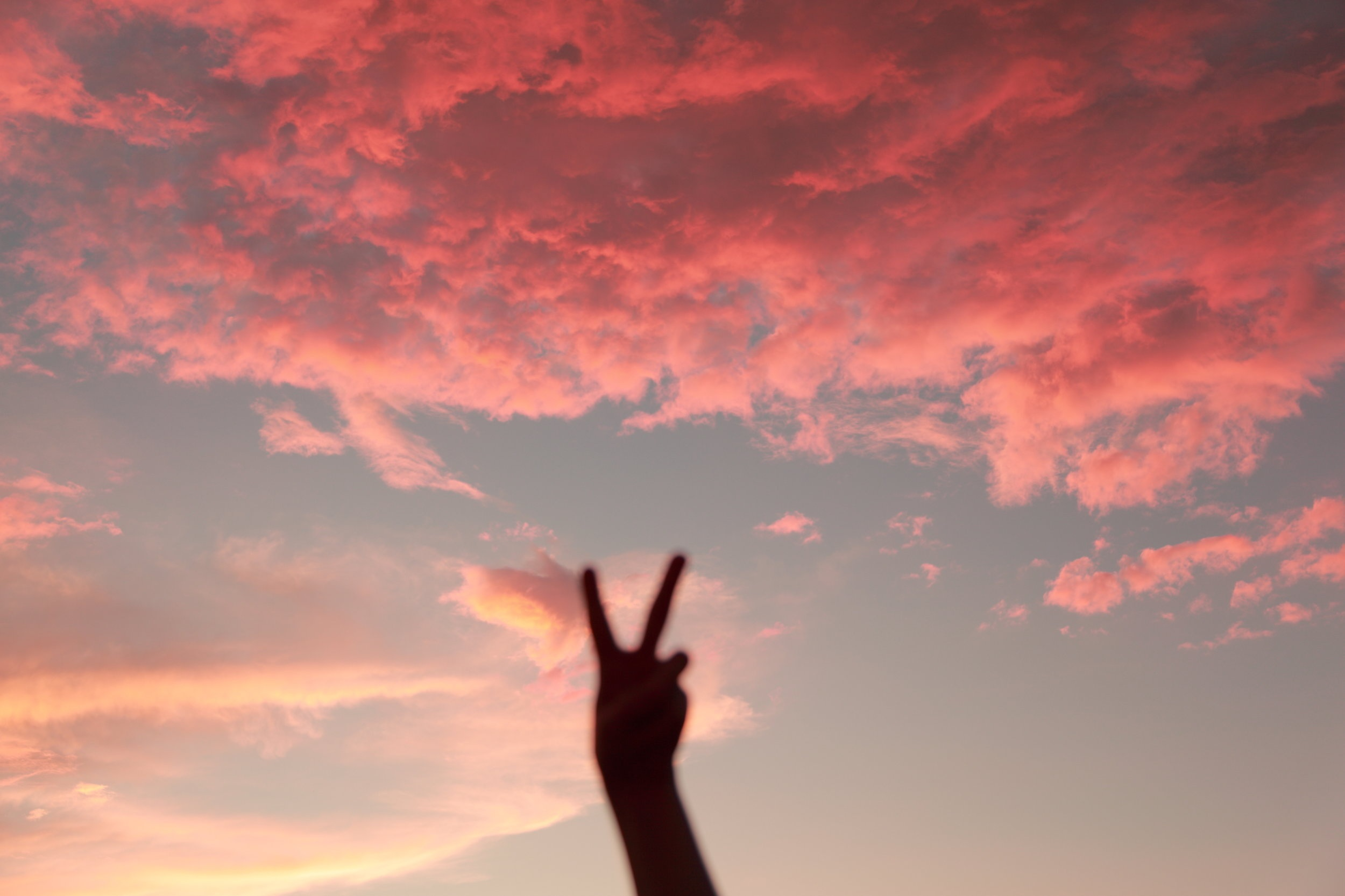 peace sign to ditching job loyalty