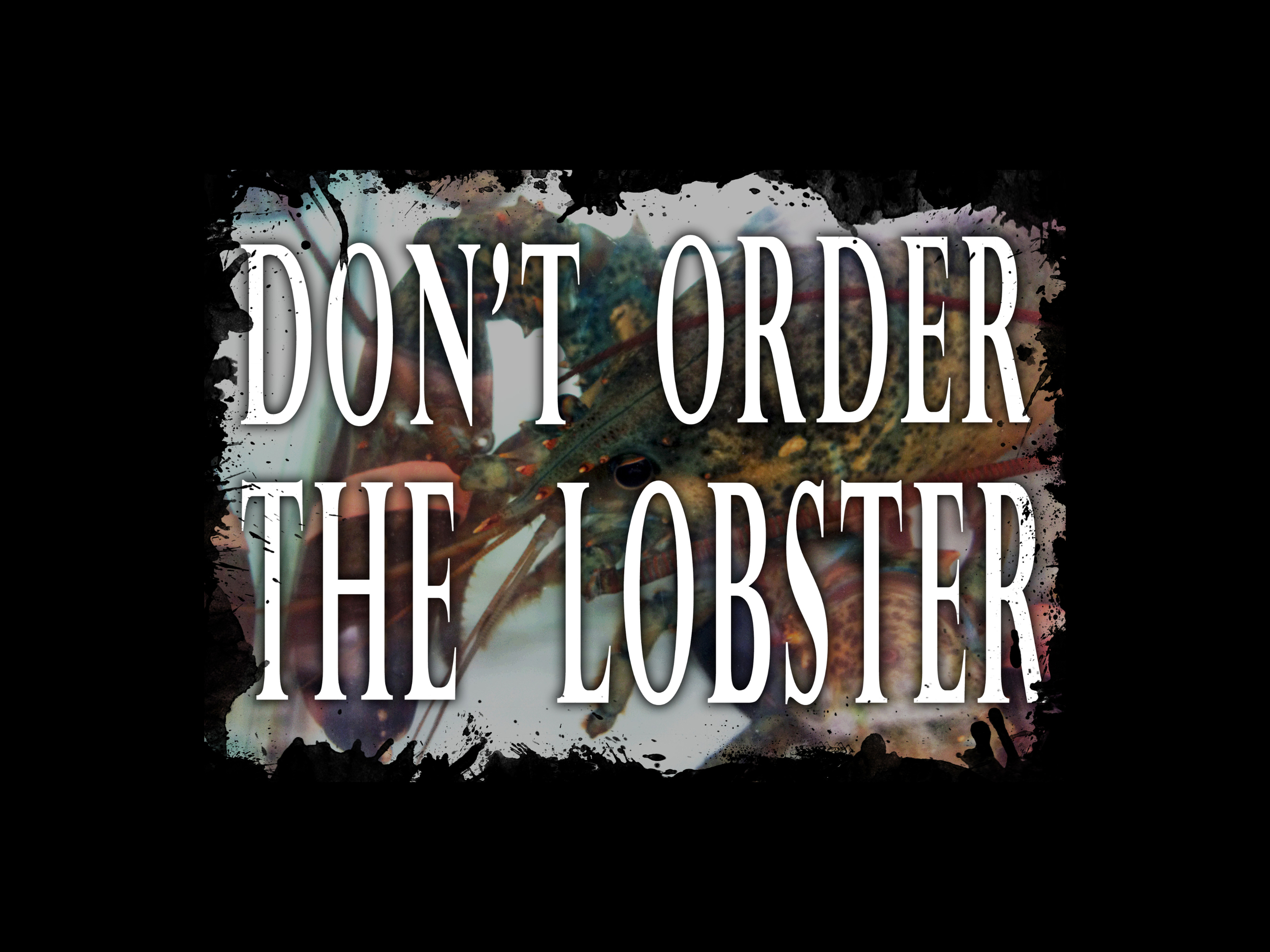 Don't Order The Lobster