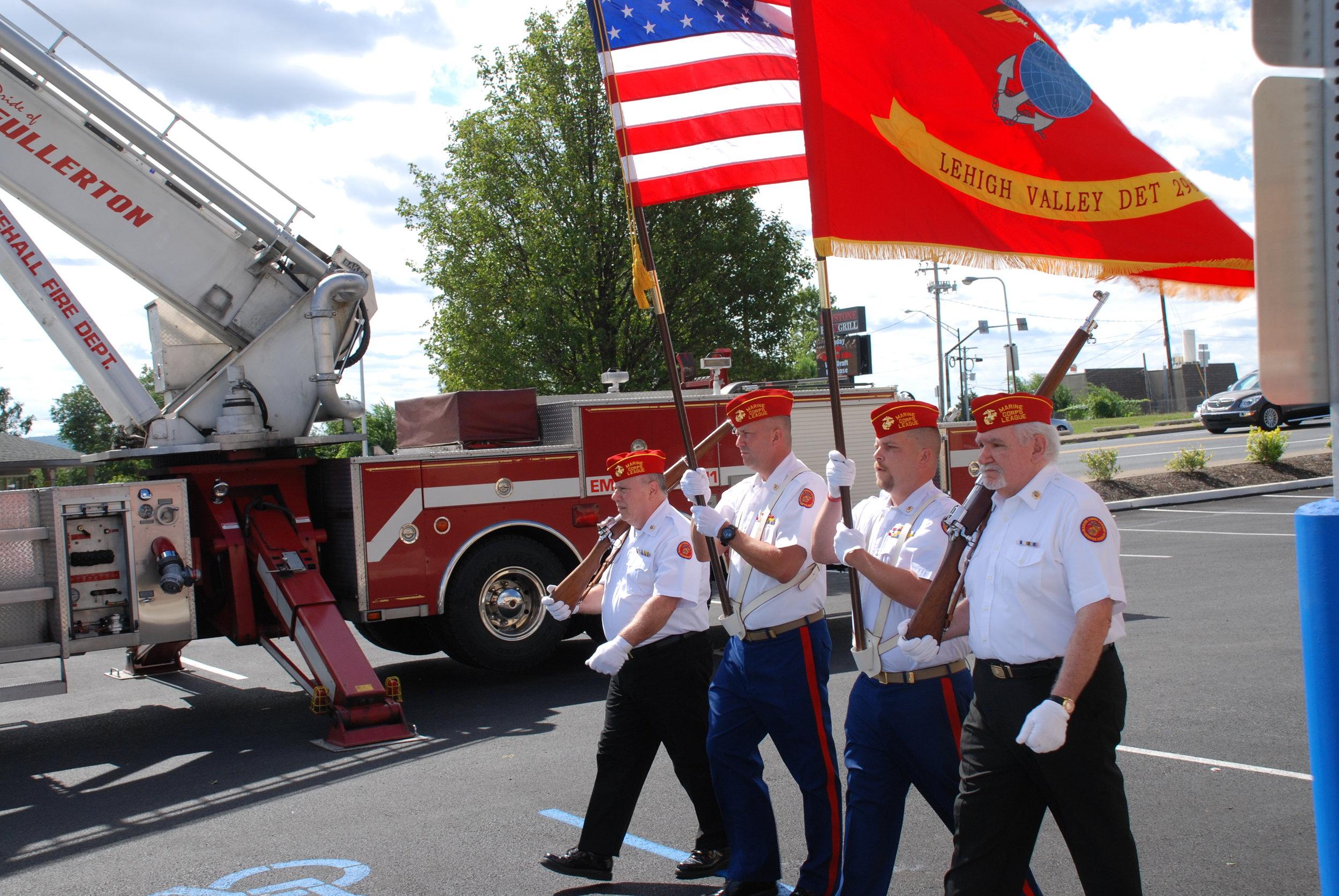 Mission BBQ 9-11 Rememberance Ceremony