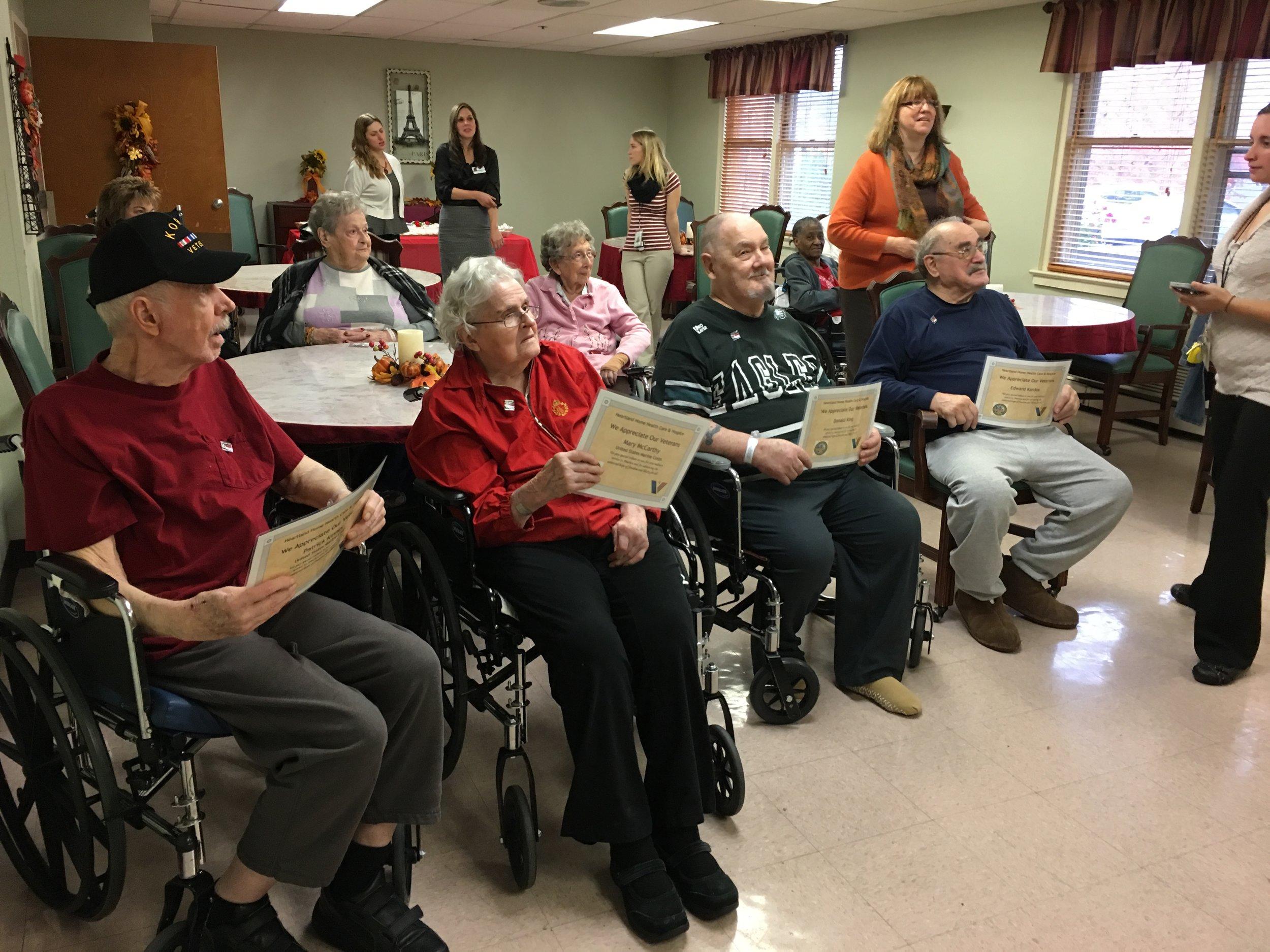Blough Nursing Home Visist 11-9-16
