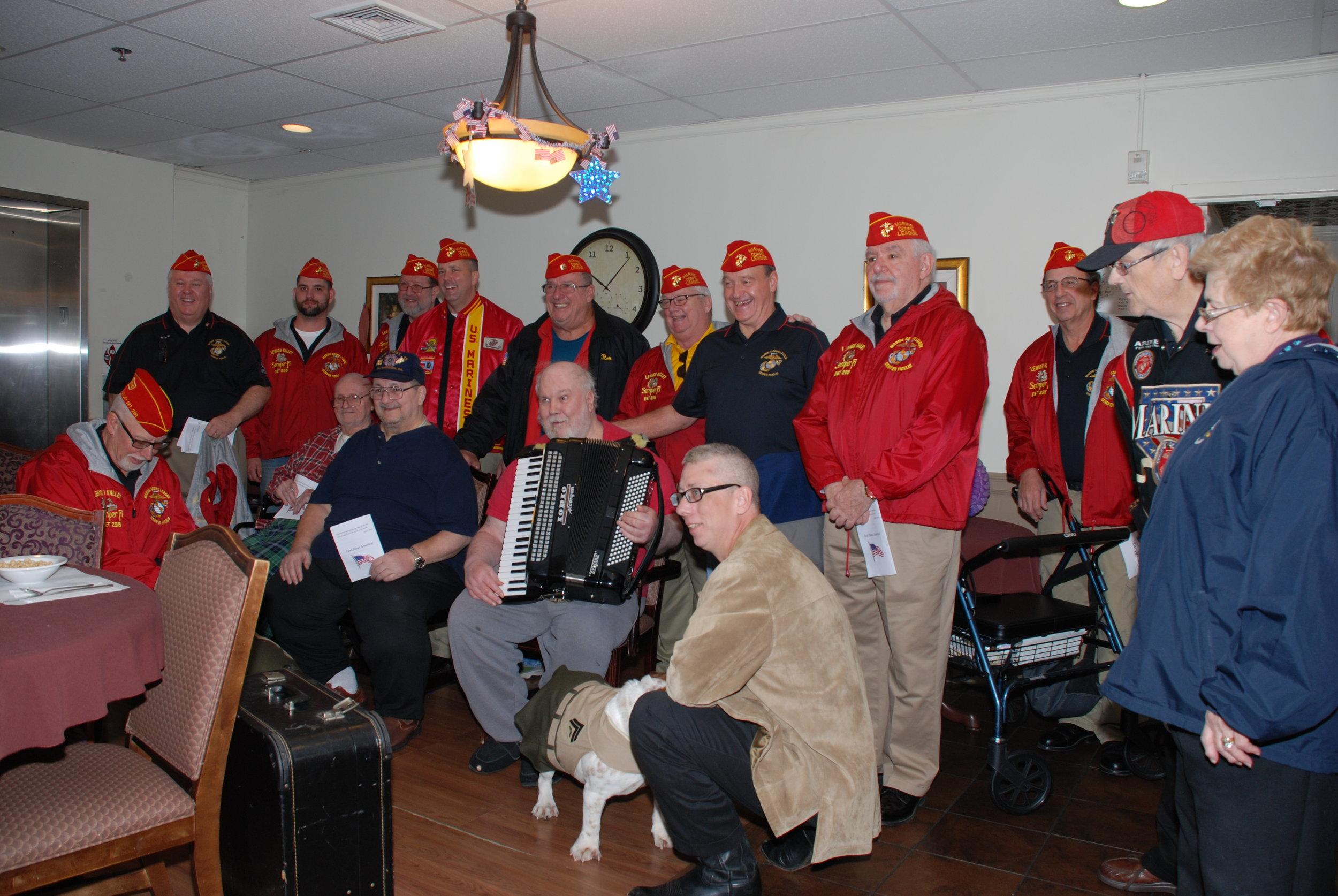 Westin Nursing Home Visit 11-11-16