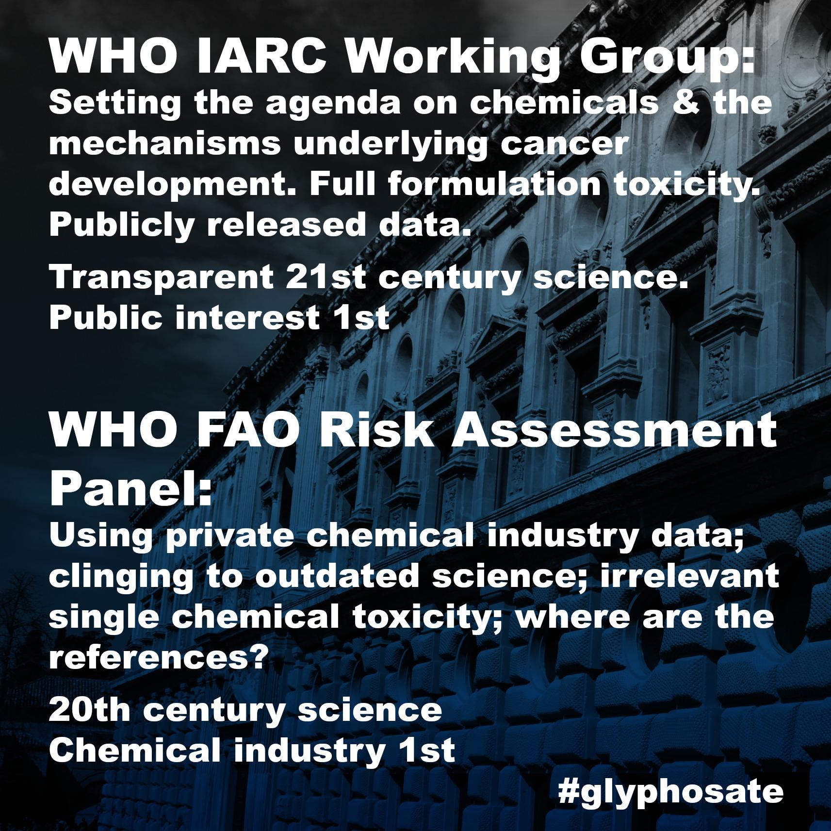 glyphosate IARC WHO