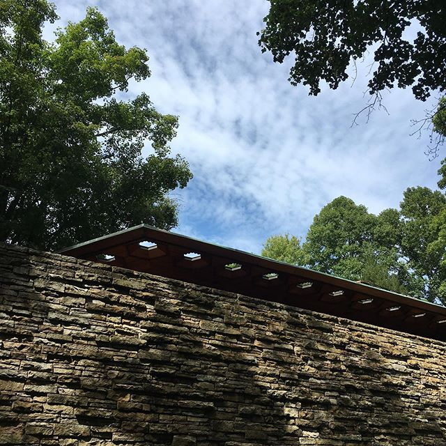 Frank Lloyd Wright weekend stop 1: Kentucky Knob