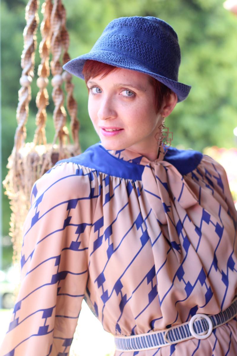 cobalt blue print secretary dress_3.jpg