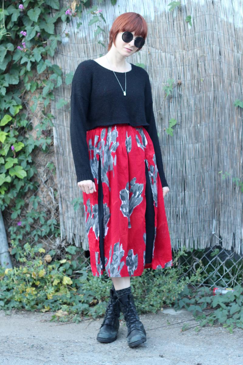 red floral dress leopard socks_1.jpg