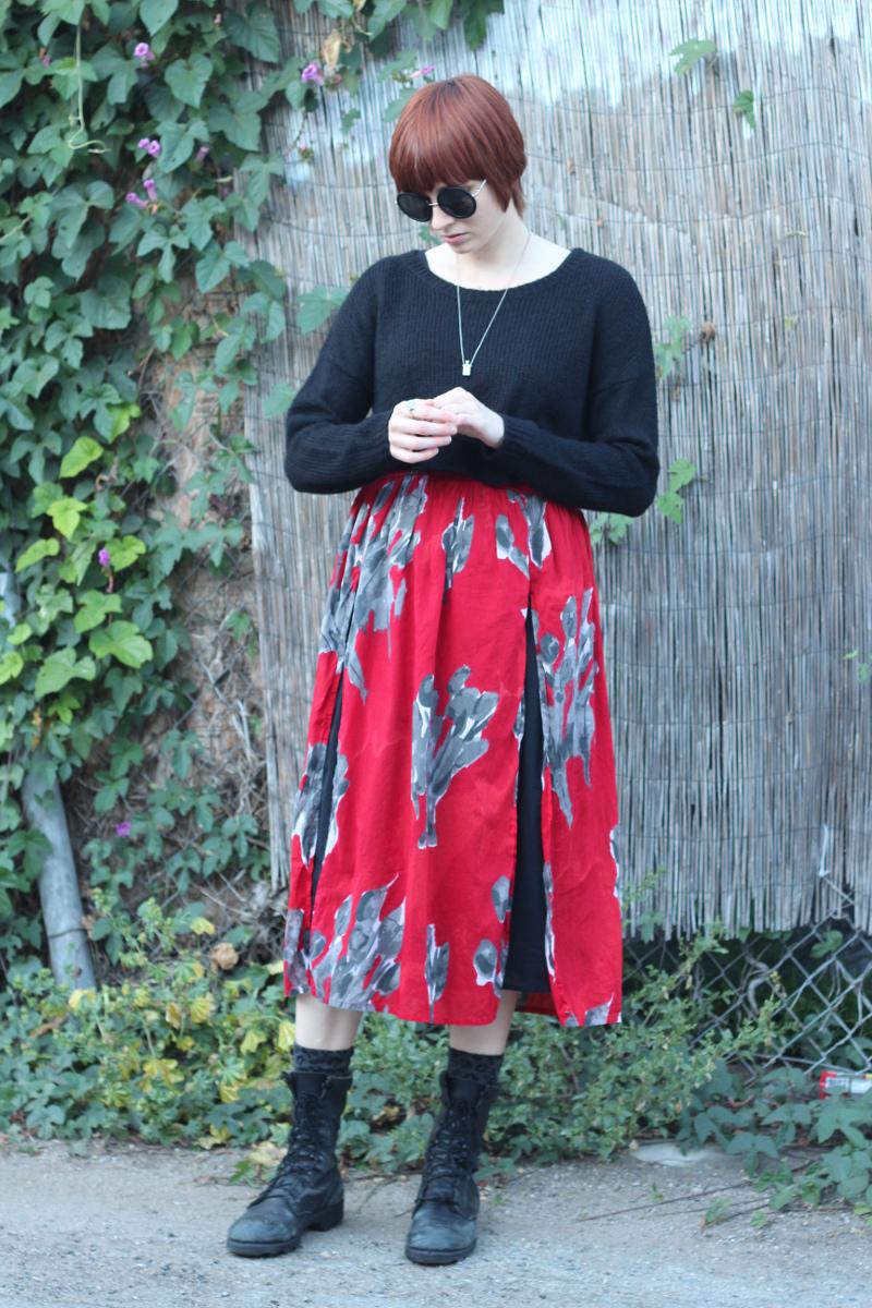 red floral dress leopard socks_2.jpg