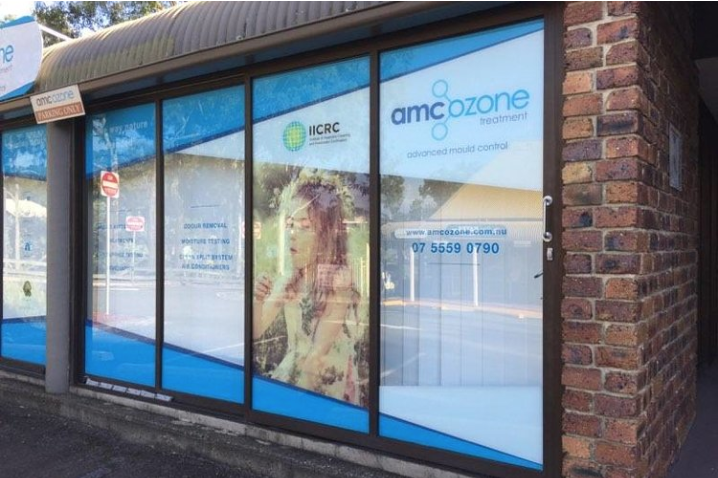 GLASS DOOR SIGNAGE   Full colour prints installed to the inside of shop windows.