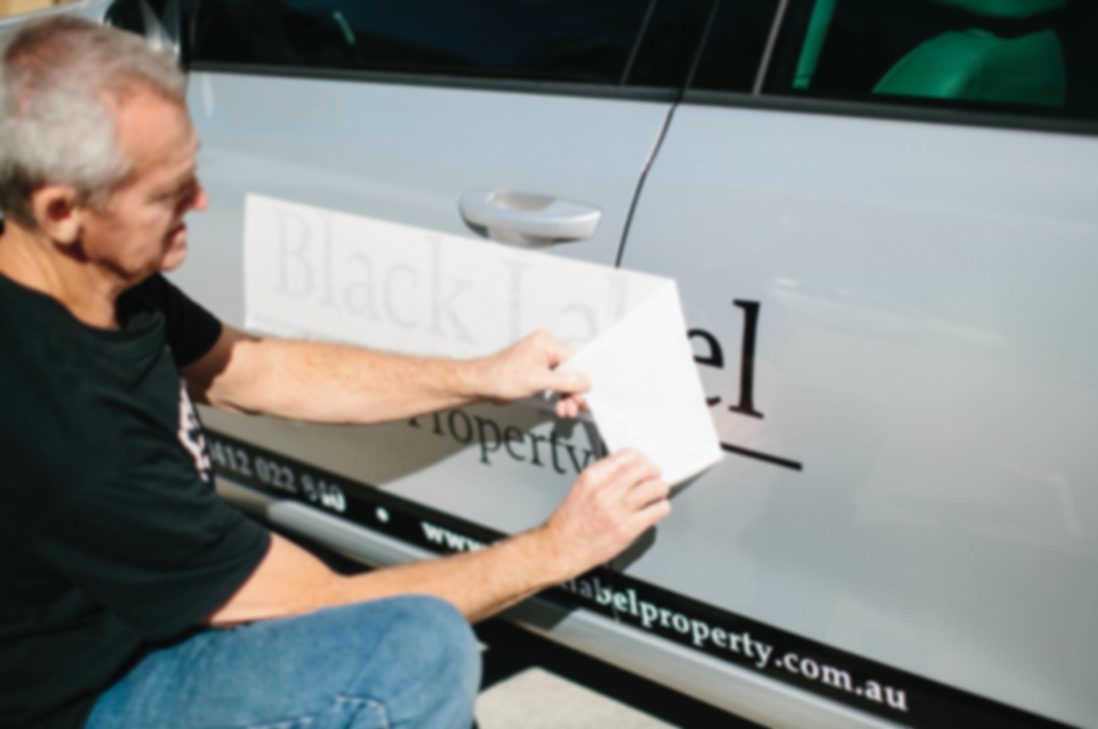 Vehicle Signage -