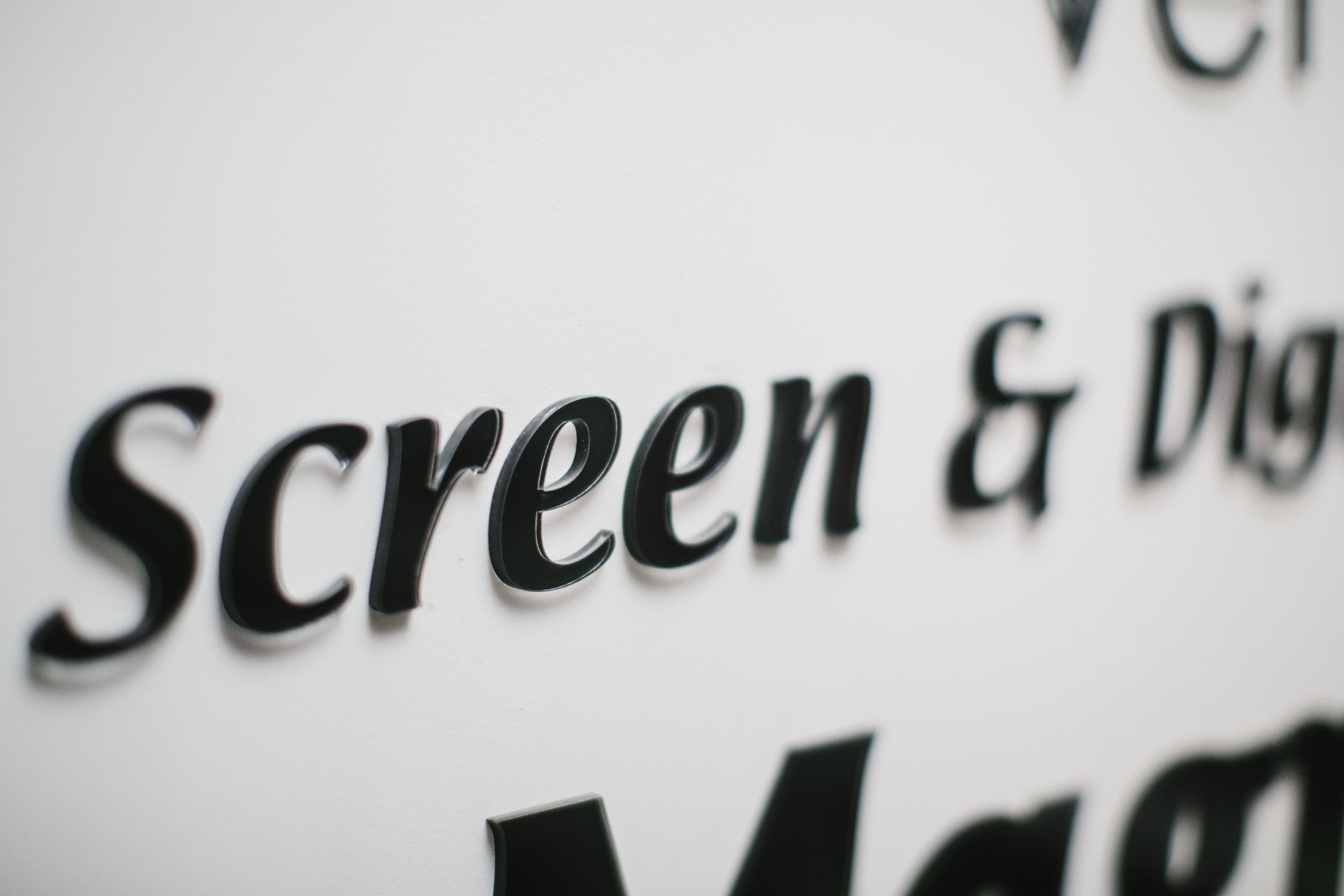Acrylic Lettering  -