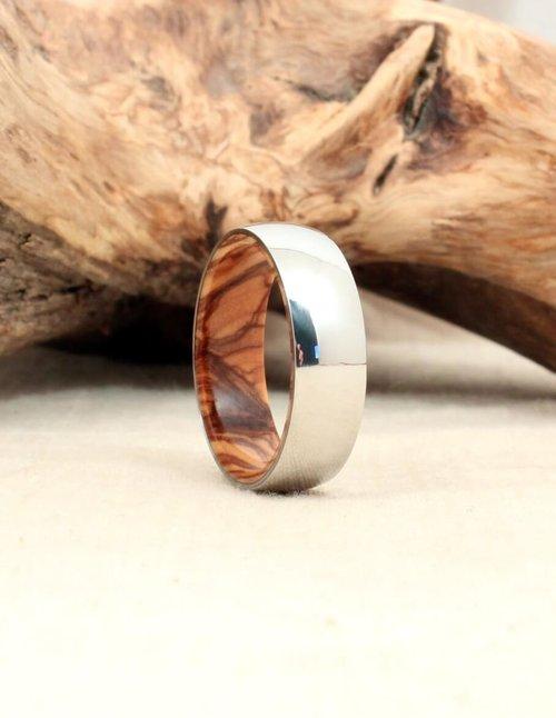 Desert Ironwood wood ring Womens Wood Rings Wood Wedding Bands Wood Engagement Rings Mens Wood Rings