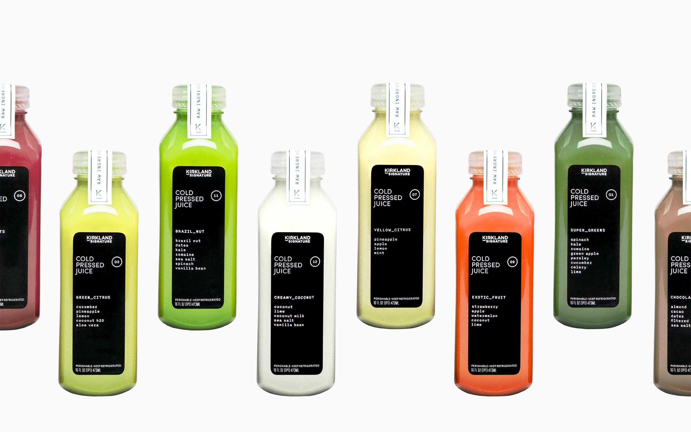 Category_ Cold Pressed Juice /Lead Designer: Megan Kearney