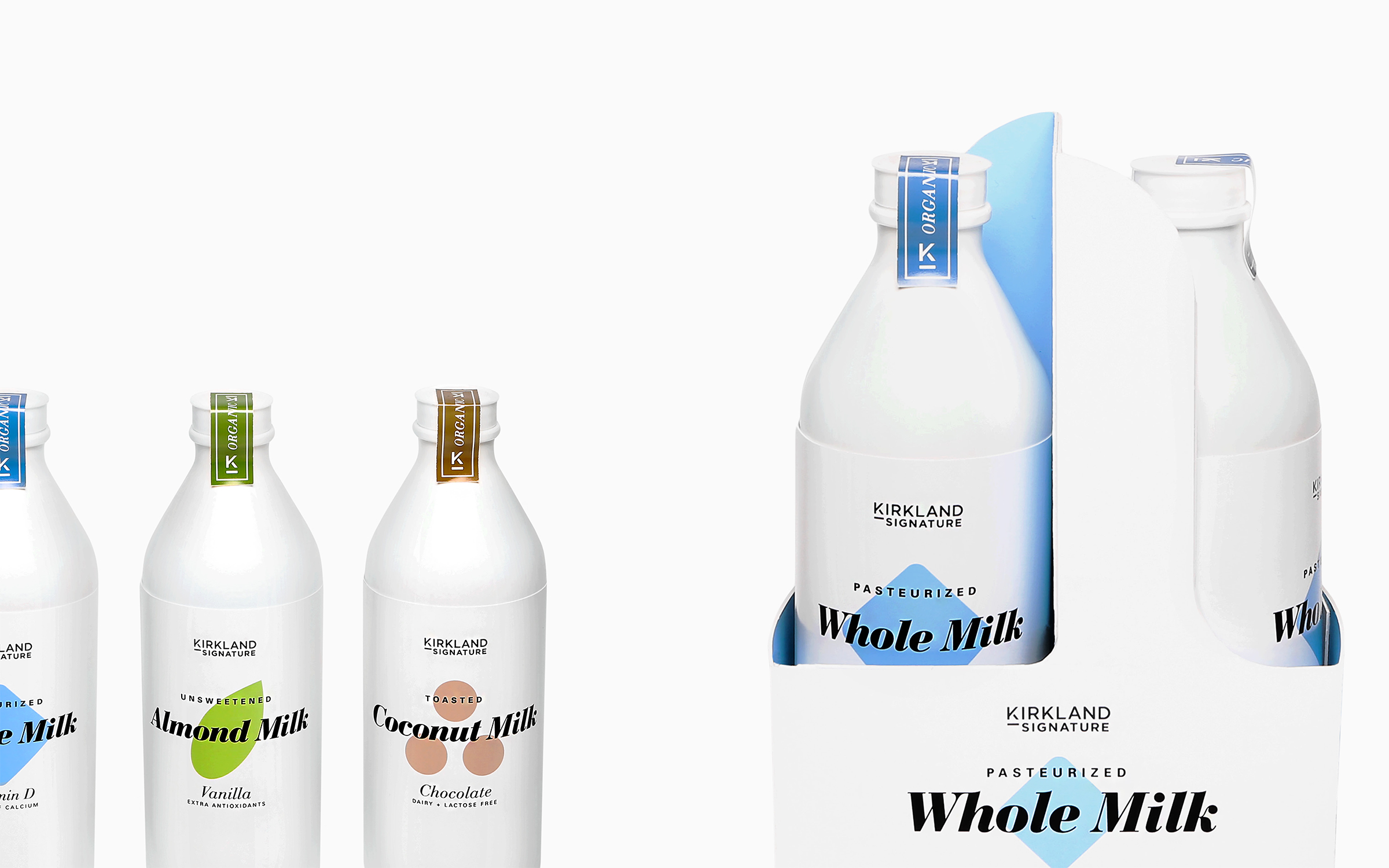 Category_ Organic Milk Products /Lead Designer: Huy Tran