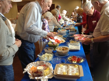 Tuesday, March 19 at 11:00 a.m.-  55+ Potluck Lunch at the MacGregor EMC Speaker: Pastor Colin Bell