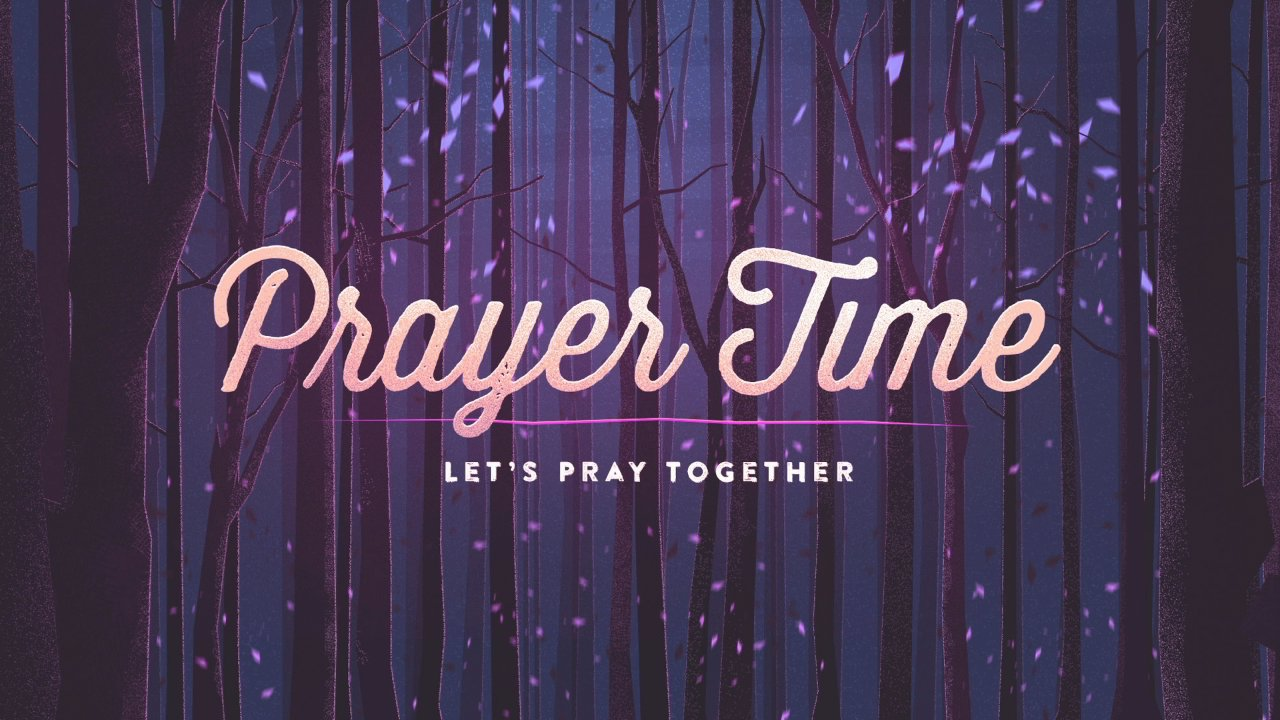 Sunday Mornings at 9:15 a.m.-  Prayer Time in the Nursery. Please join us as we commit our Sunday School, Service, and other requests back to the Lord.