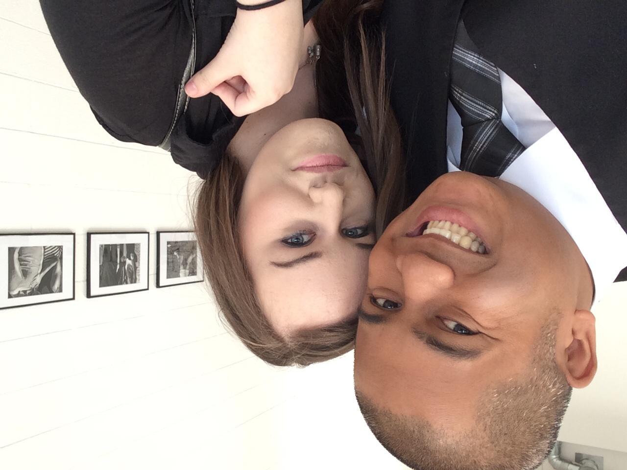 Me and Kelli Coyne (Former Classmate; Friend)