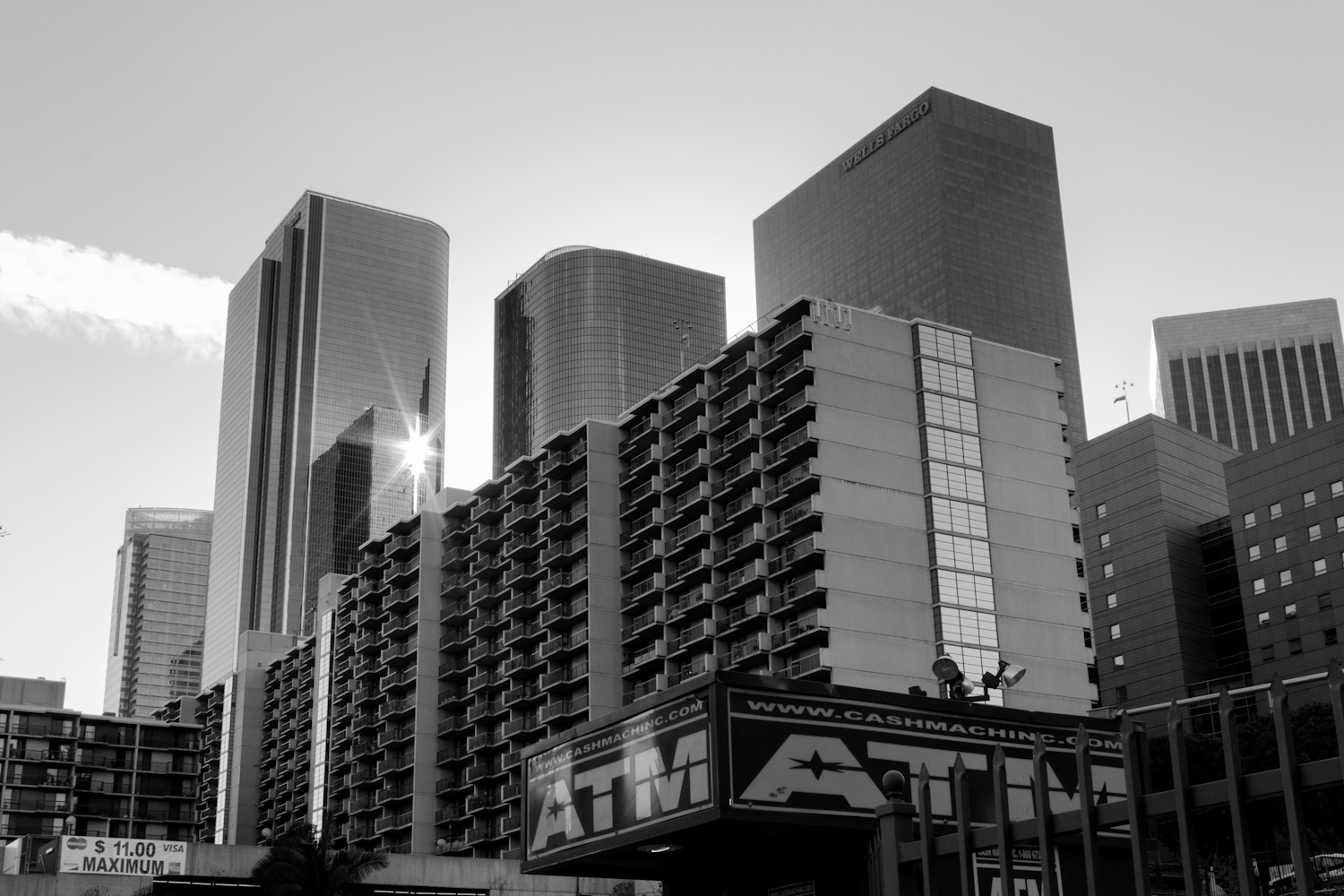 Downtown Los Angeles by Grand Park