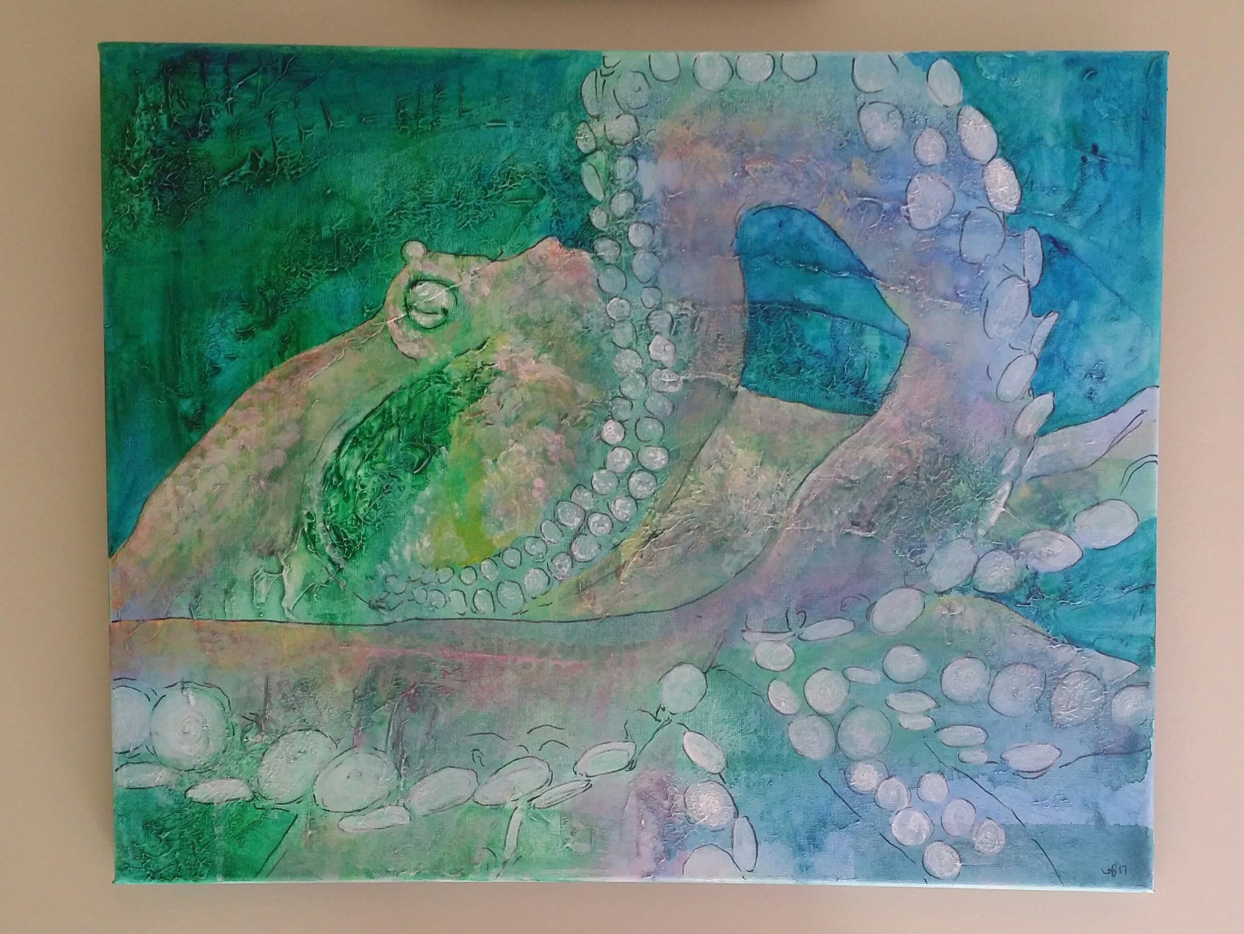 Pastel Octopus