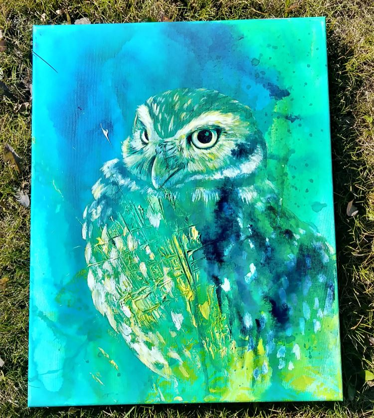 0979 Burrowing Owl WIP elisa friesen 2018.JPG