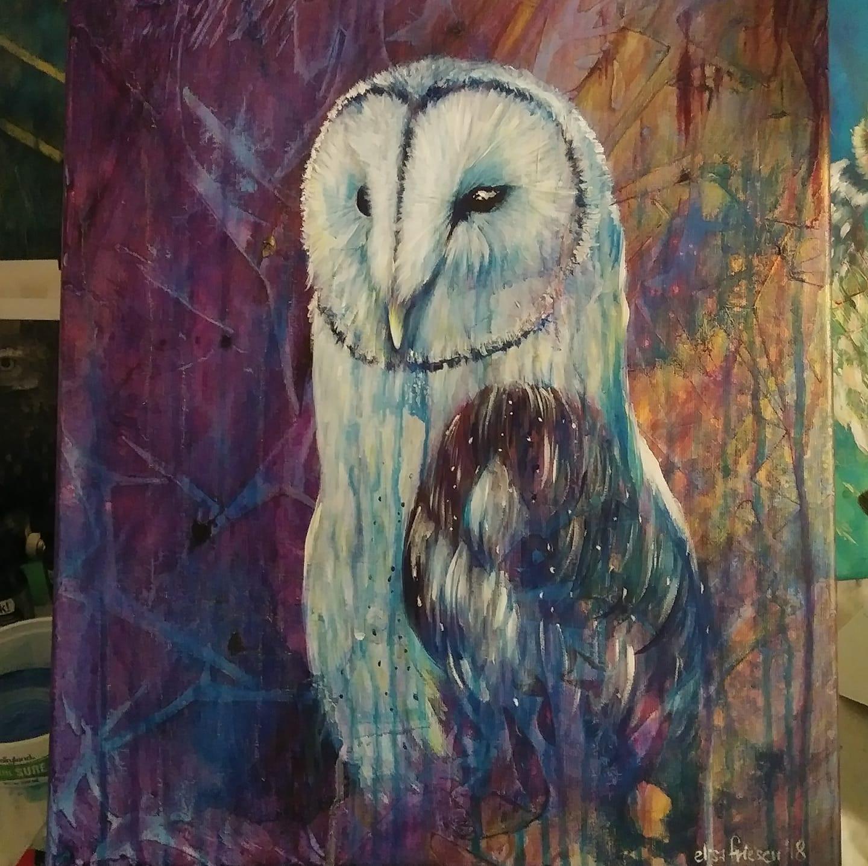 0984 Barn Owl WIP elisa friesen 2018.JPG