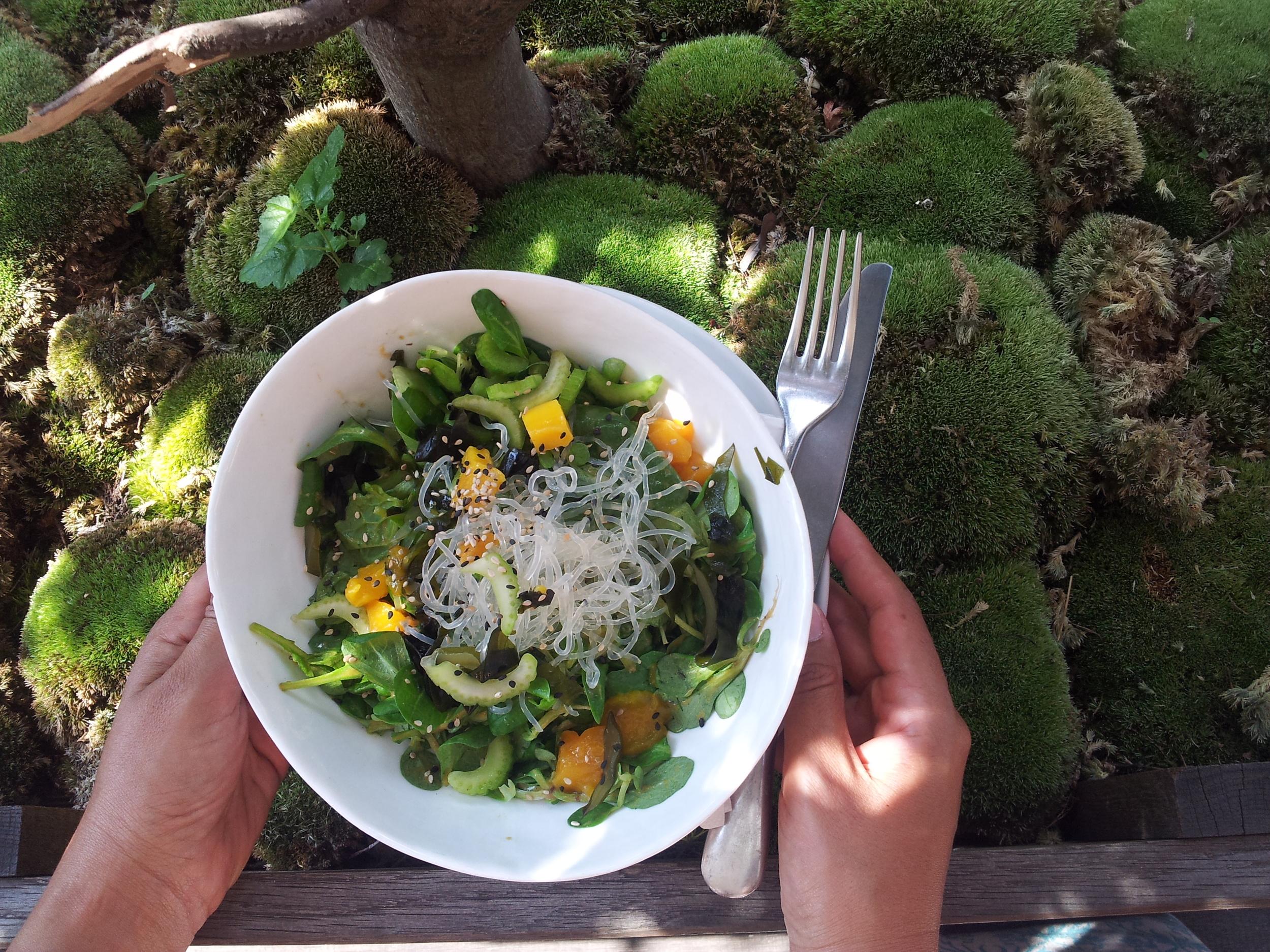 Really nice salads at Daluma's