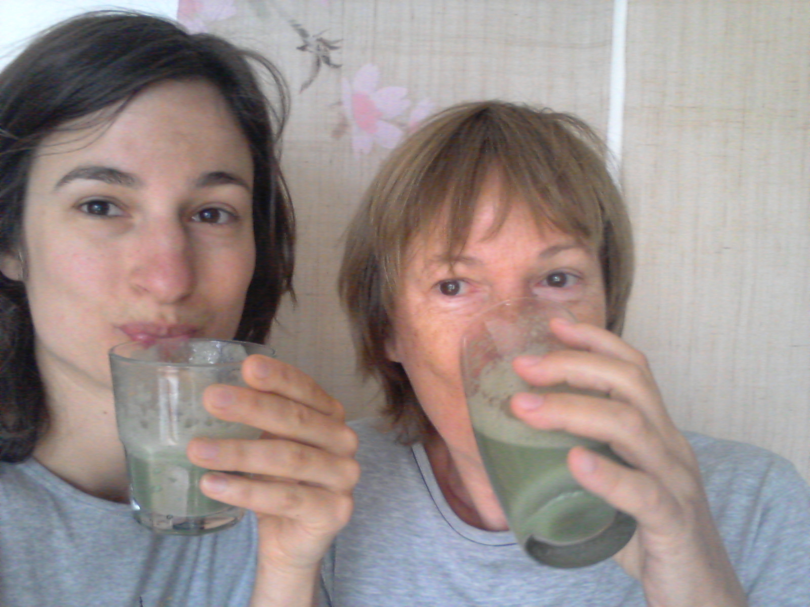 Me and mum had nettle smoothies
