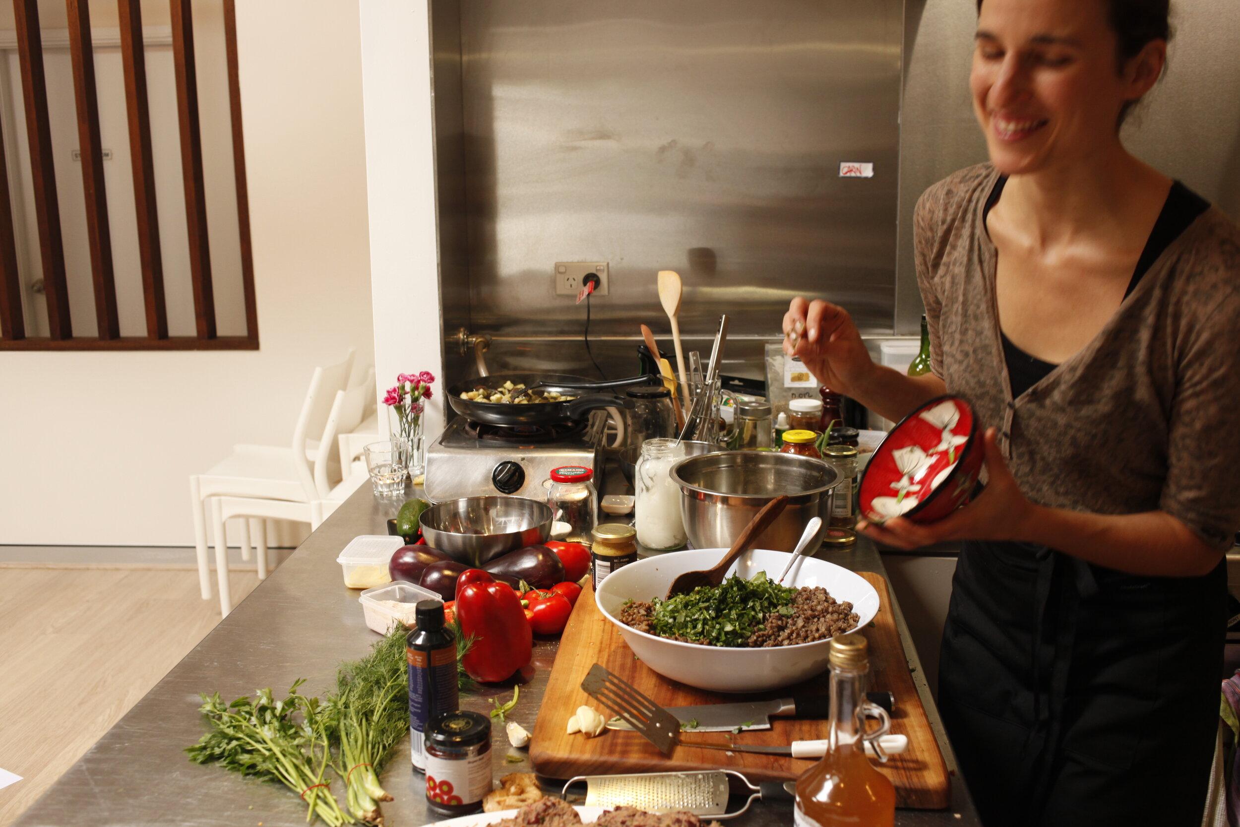 Gala's Cooking Classes - Vegan, vegetarian, carnivore, pescatarian, herbivore, omnivore, whatever, everyone is welcome!