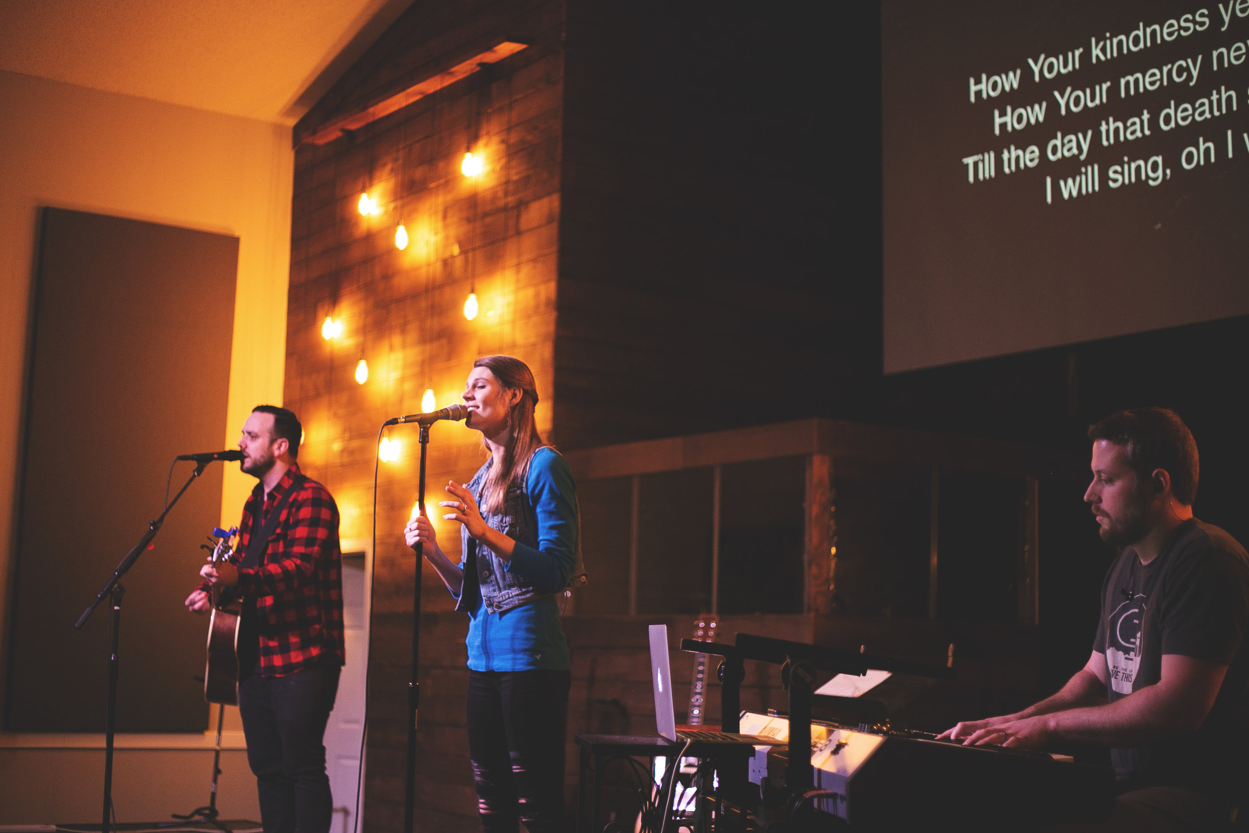 Spotify Playlist - We've created a playlist for you to be able to sing the songs we sing on Sunday mornings throughout the week.