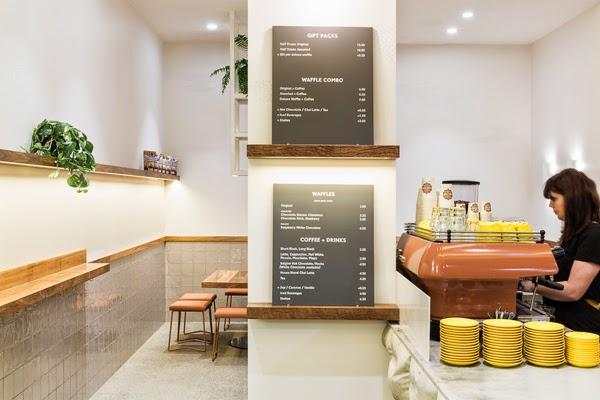 Coffee machine and menu
