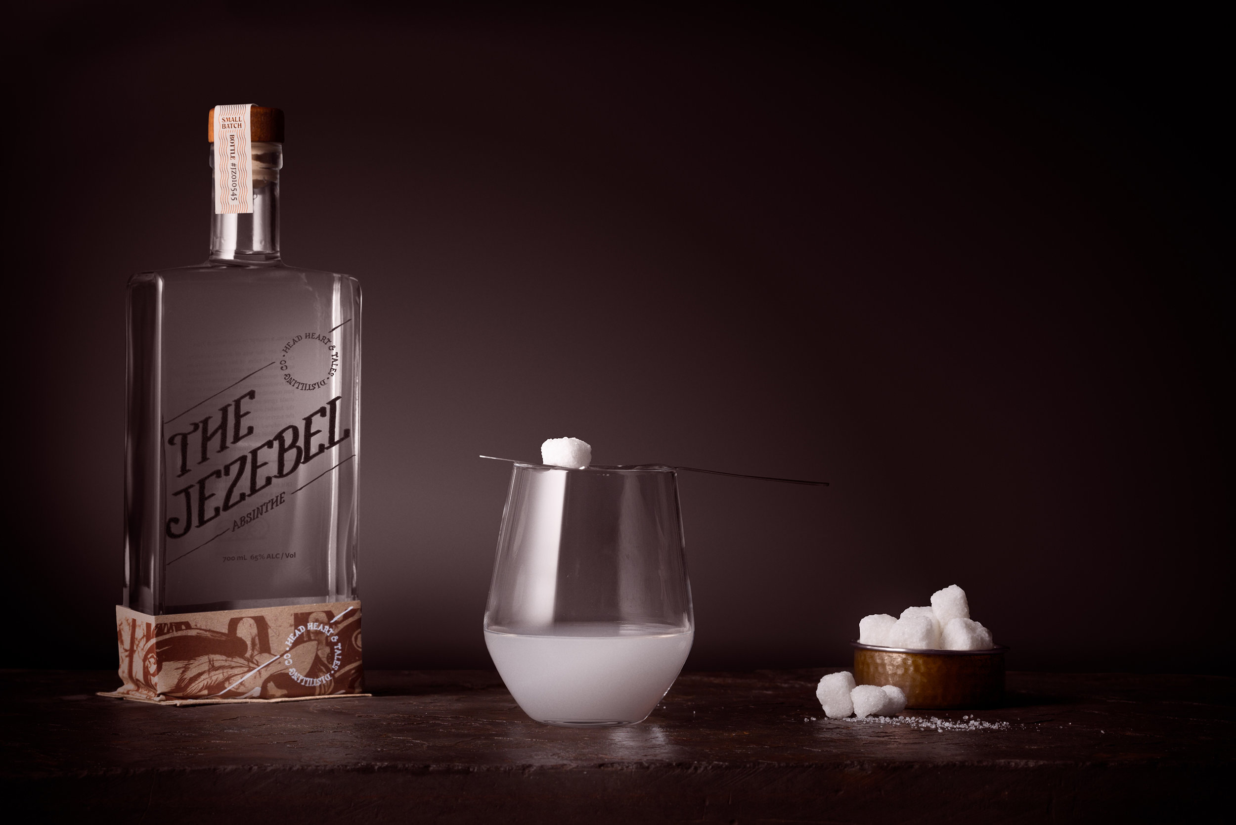 Head Heart and Tales The Jezebel Absinthe  Traditional Method