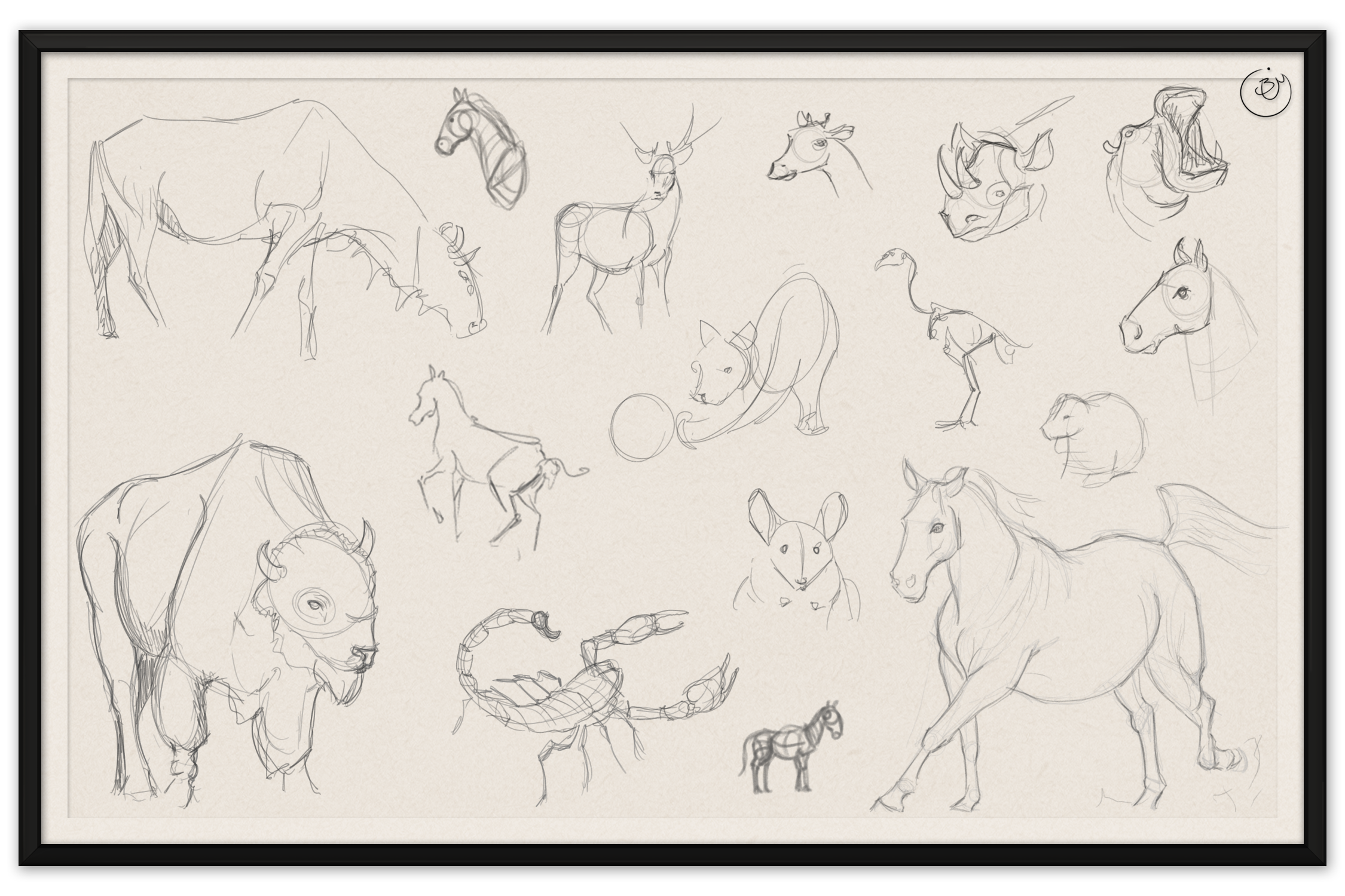 Animal Gestures #2 (Digital)