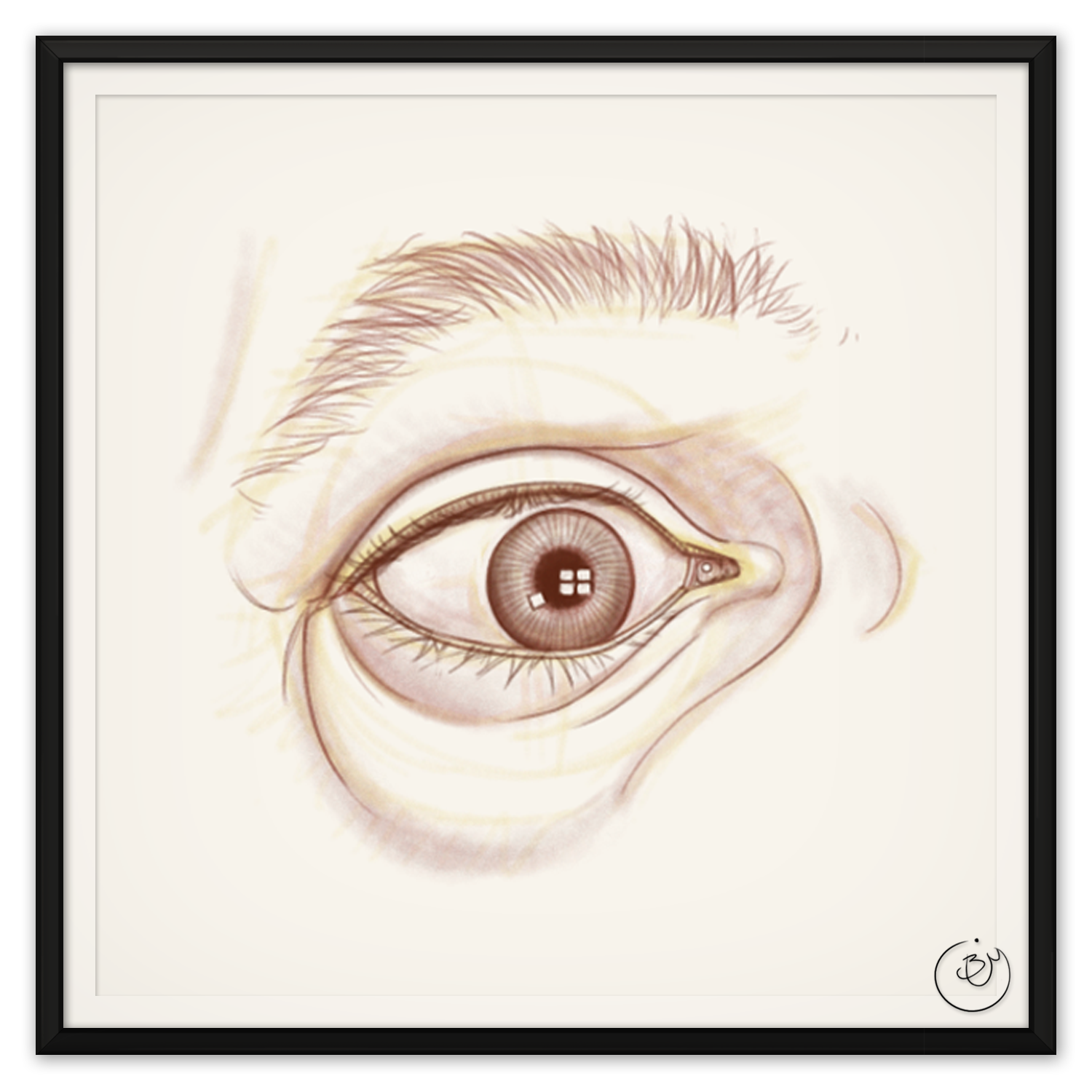 """Eye"" Flashcard (Digital)"