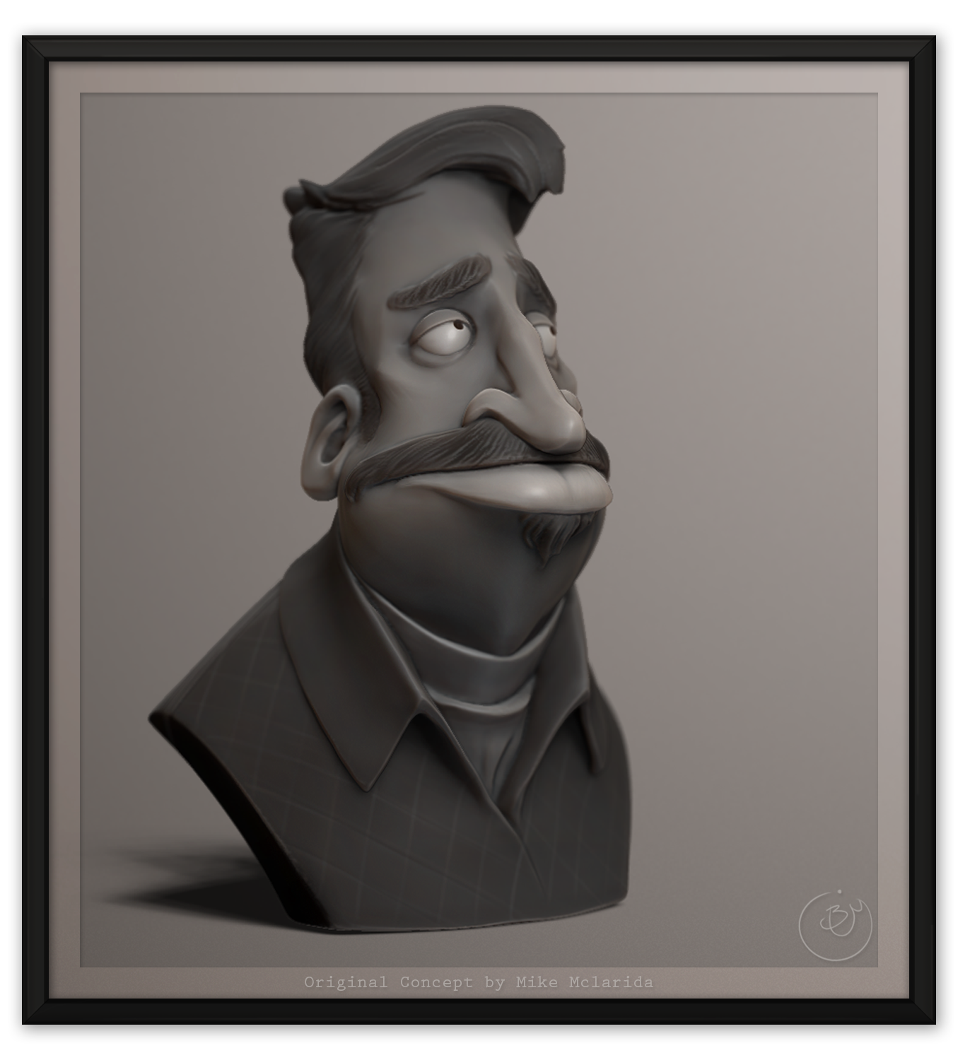 Bust from Concept by Mike Mclarida