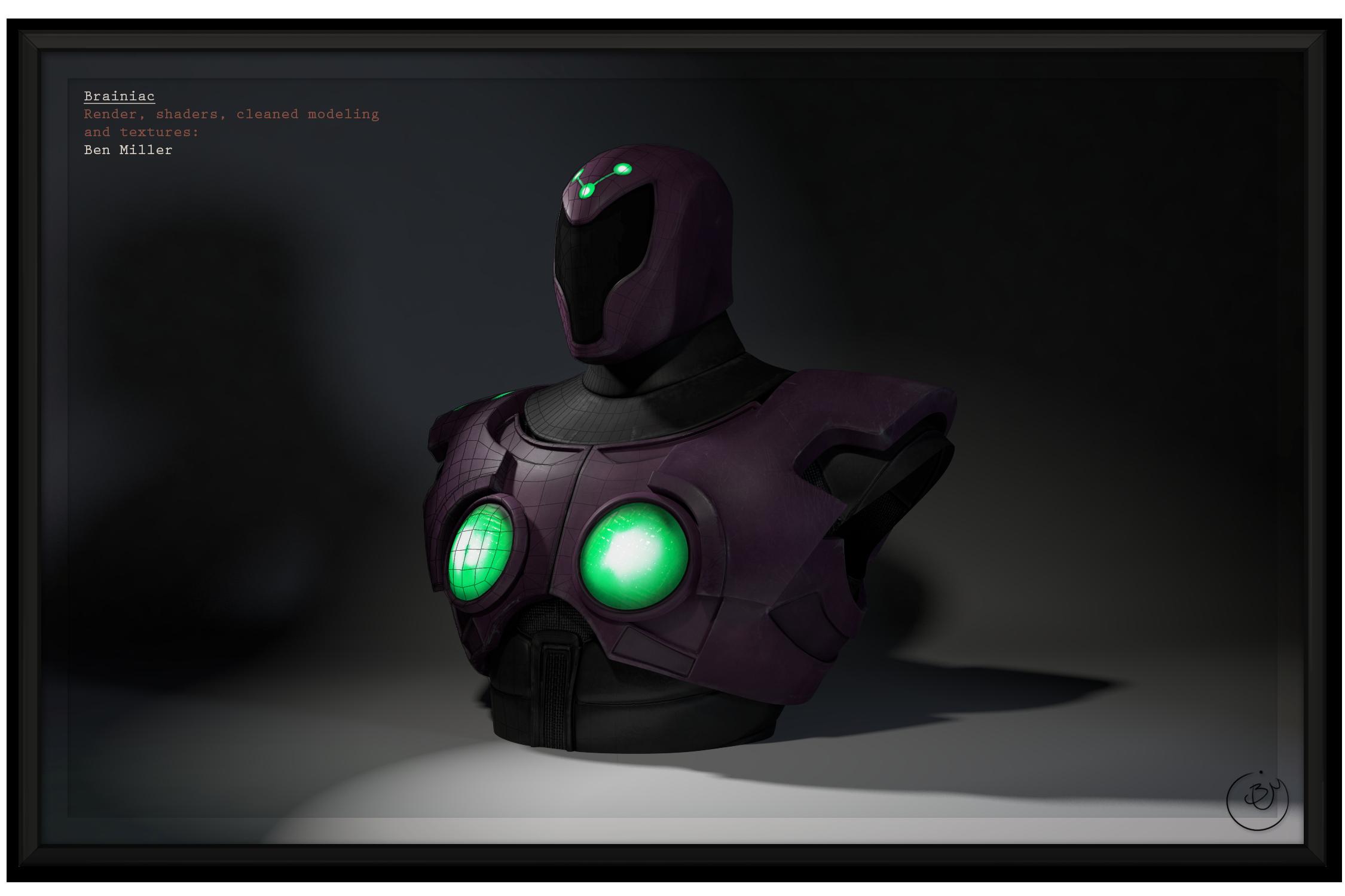 SM:Origins - Brainiac (Cleanup)
