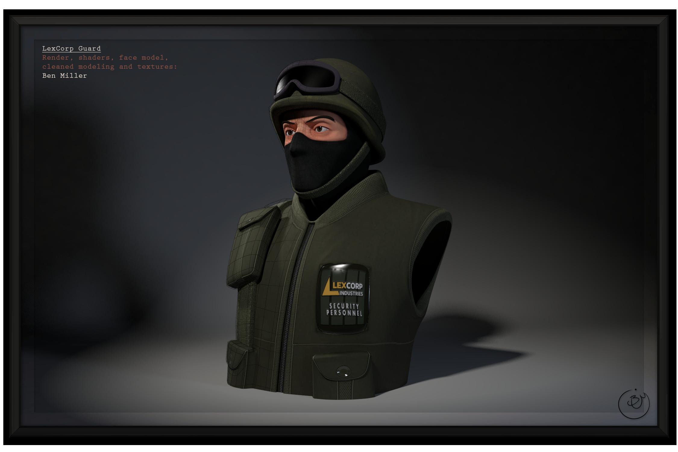 SM:Origins - Guard (Cleanup)