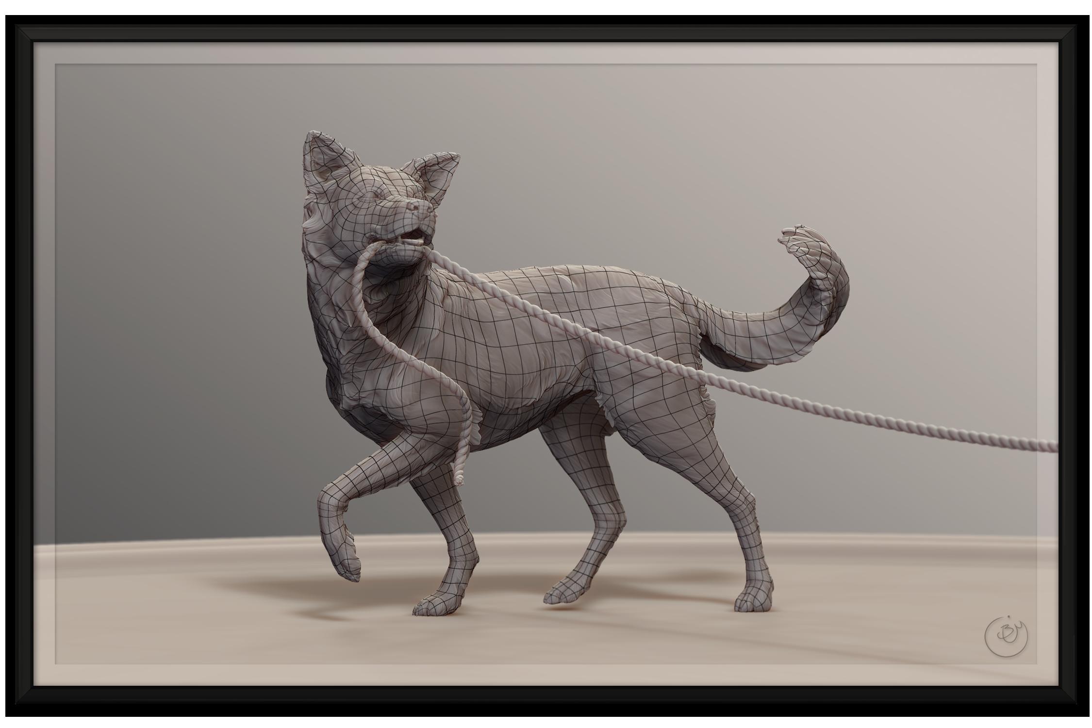 Dog Sculpture Topology