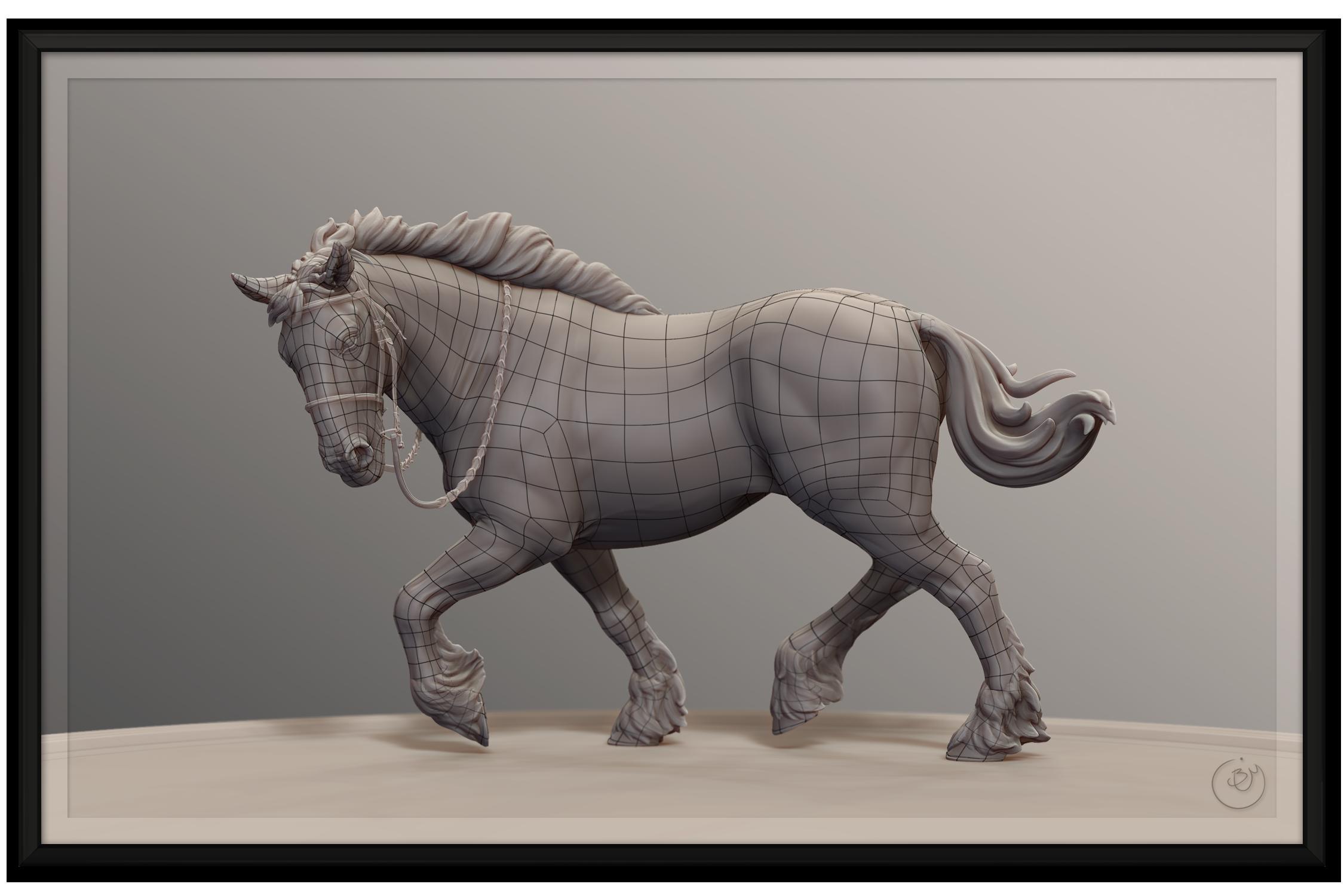 Horse Sculpture Topology