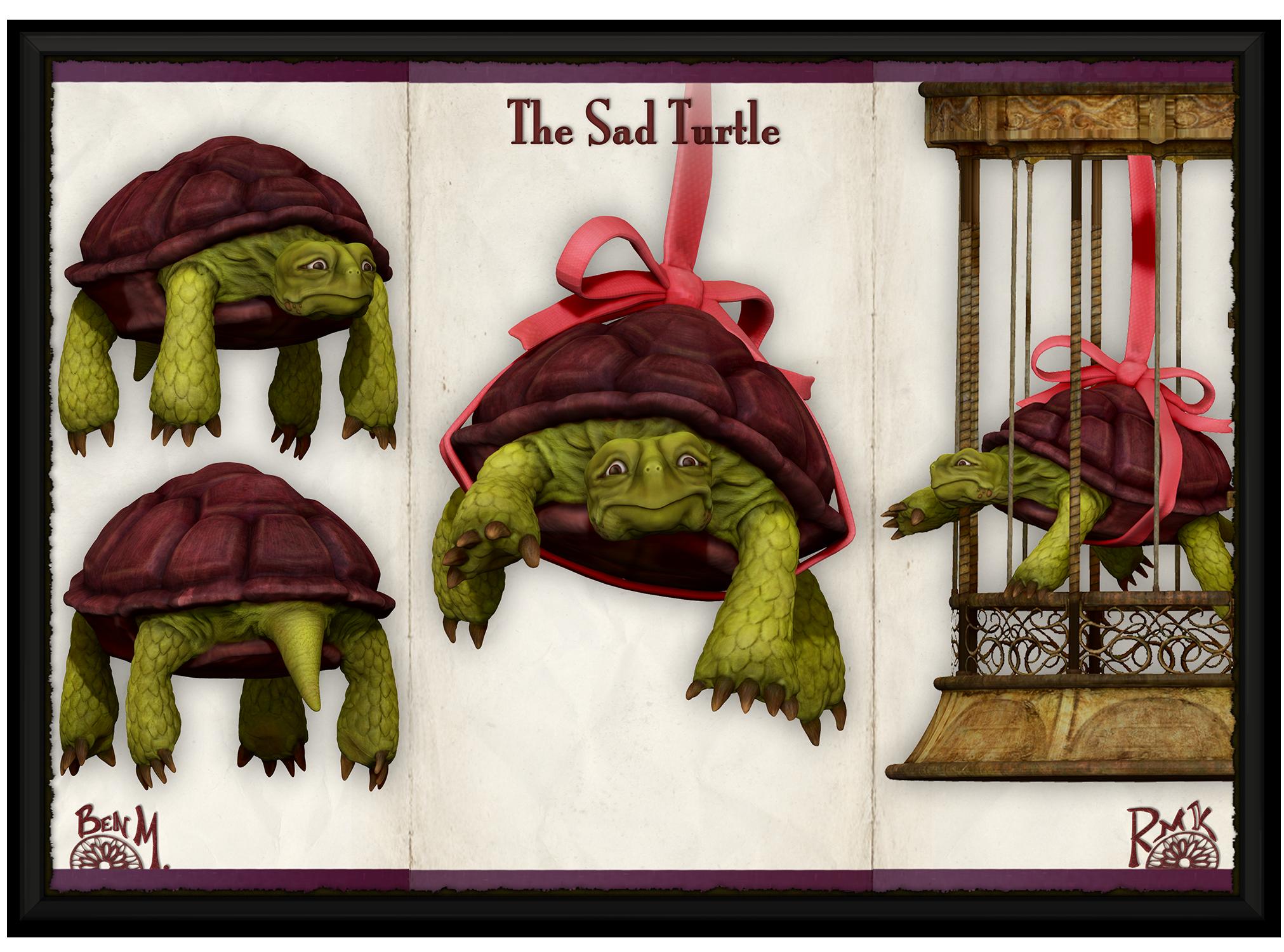 RMK Sad Turtle (Render)