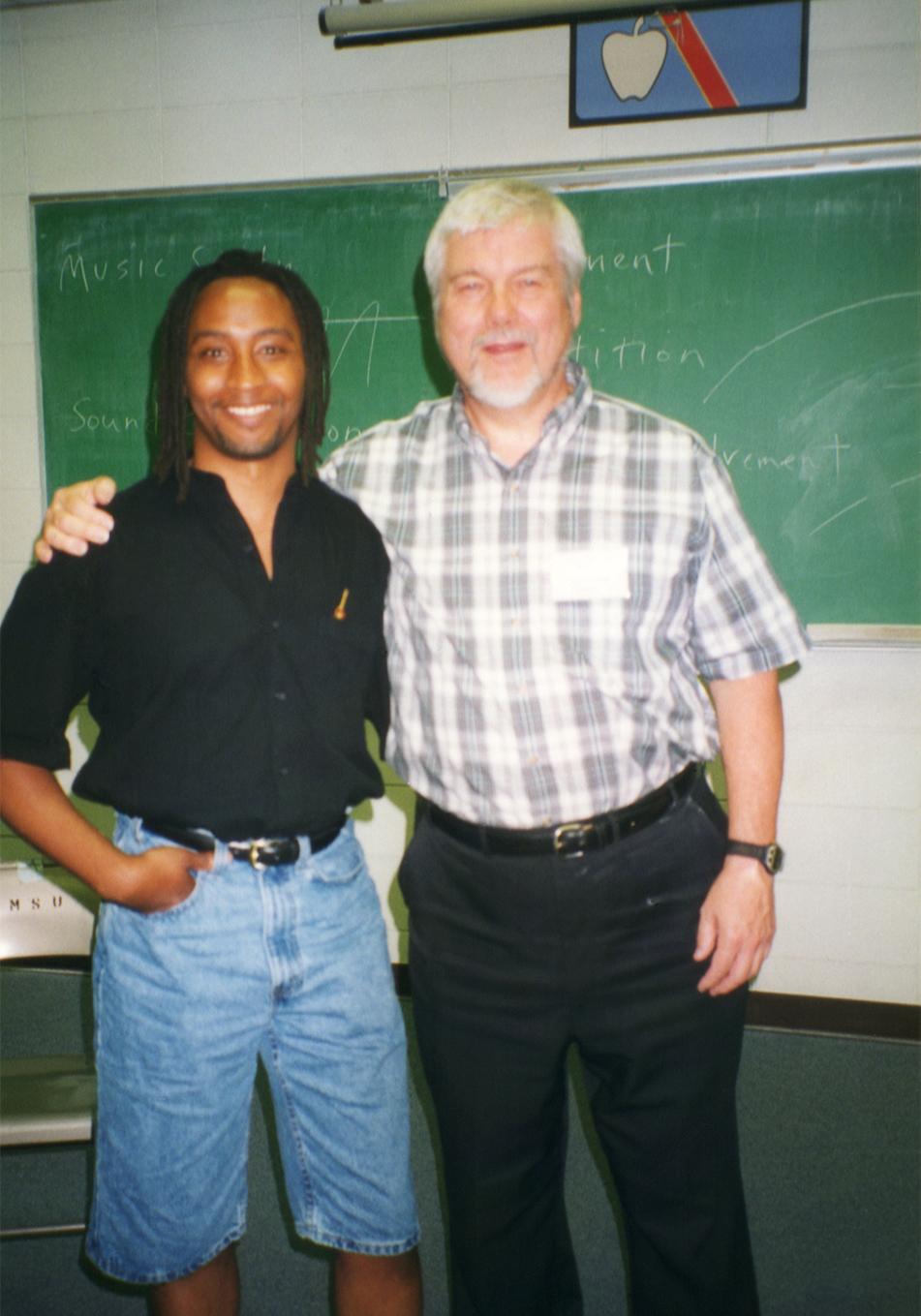 With  John Sutherland  at Montana State University